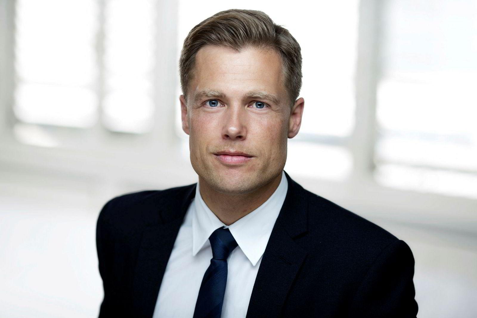 Rune Opdahl, advokat og partner i Wiersholm.