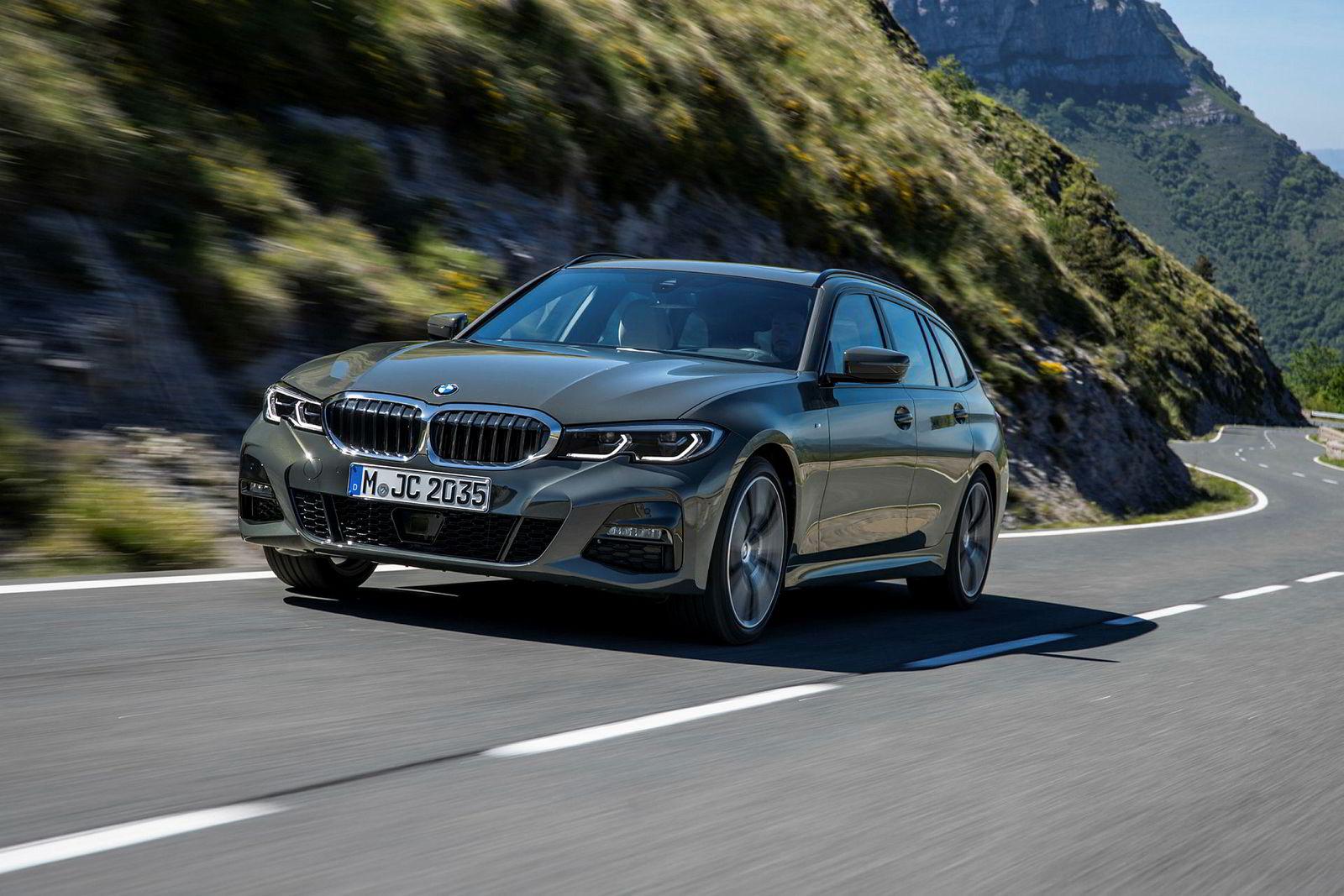 BMW 3-serie touring.