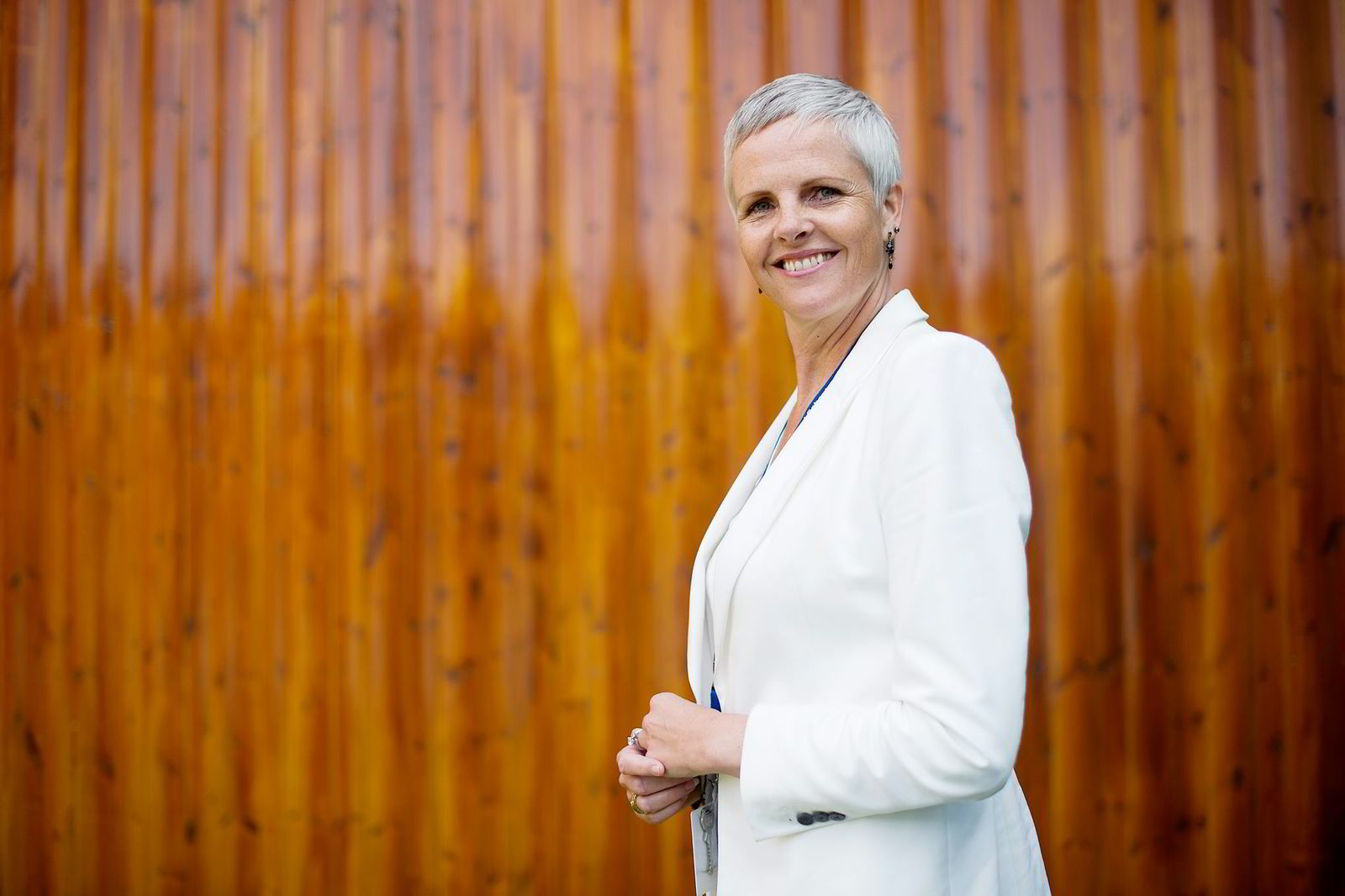 «KJEMPESPENNENDE». Rektor Janecke Aarnæs ved Oslo International School (OSI) i Bærum.