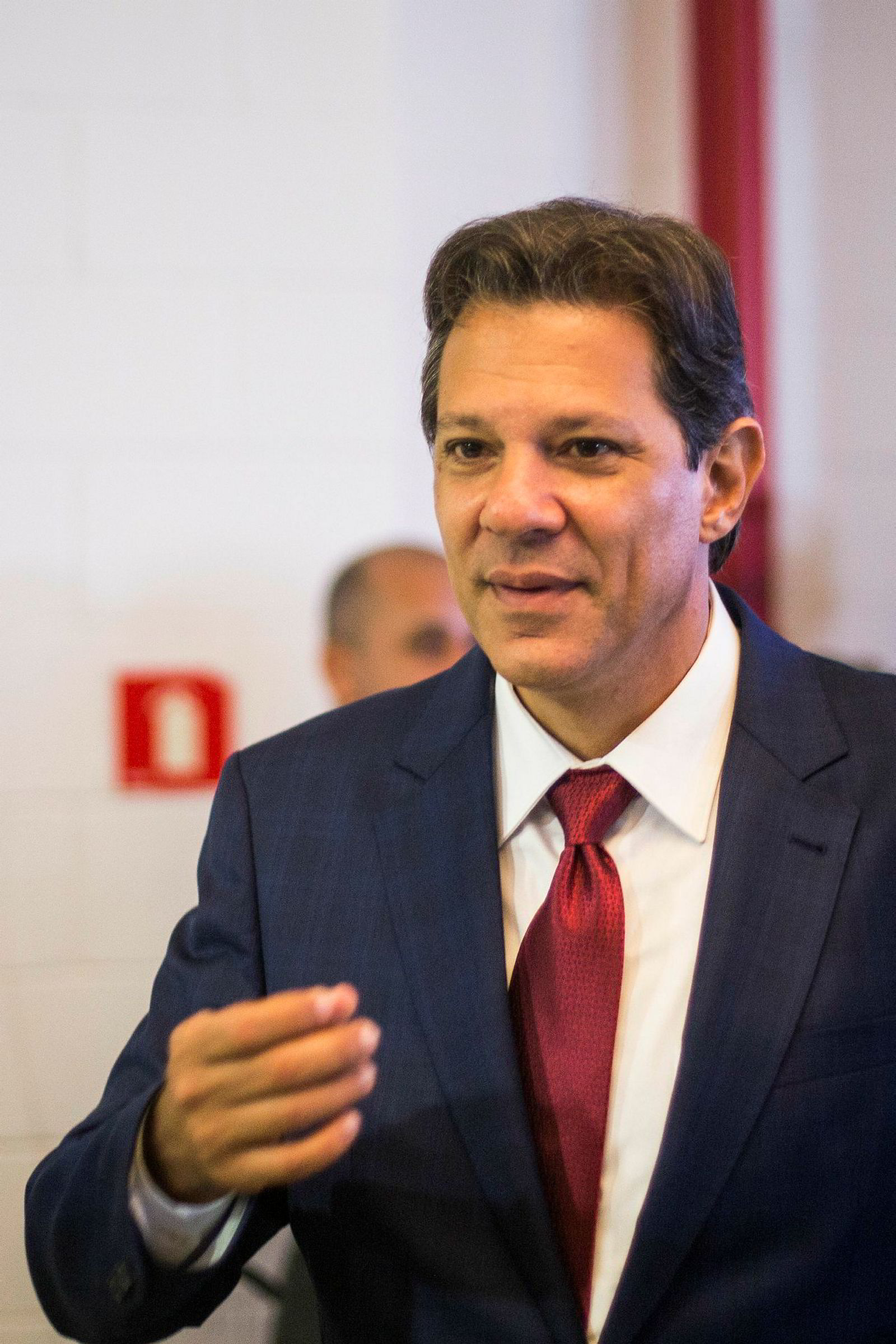 Fernando Haddad fra arbeiderpartiet (PT)