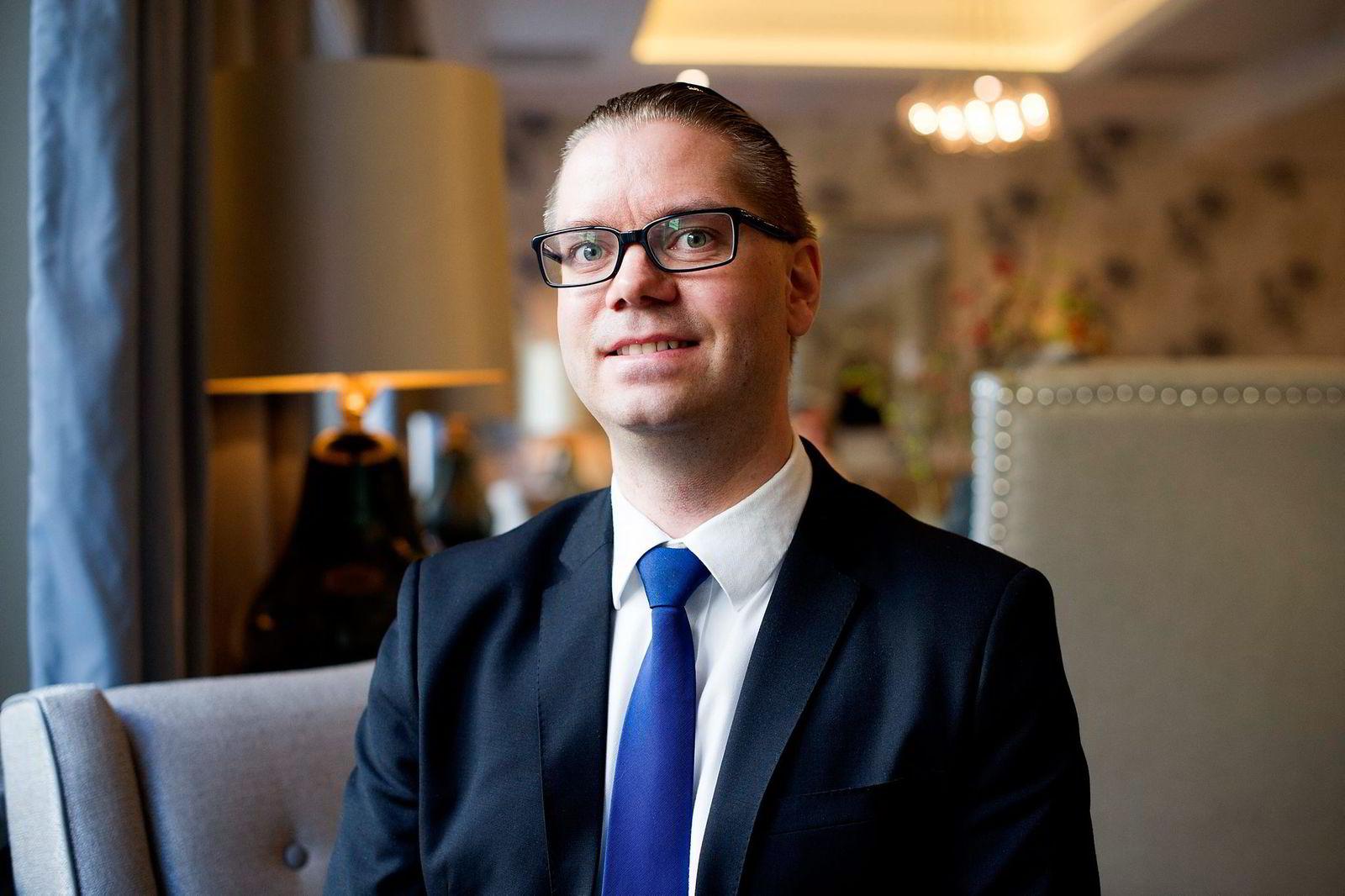 Marius Gonsholt Hov, seniorøkonom i Handelsbanken Capital Markets.