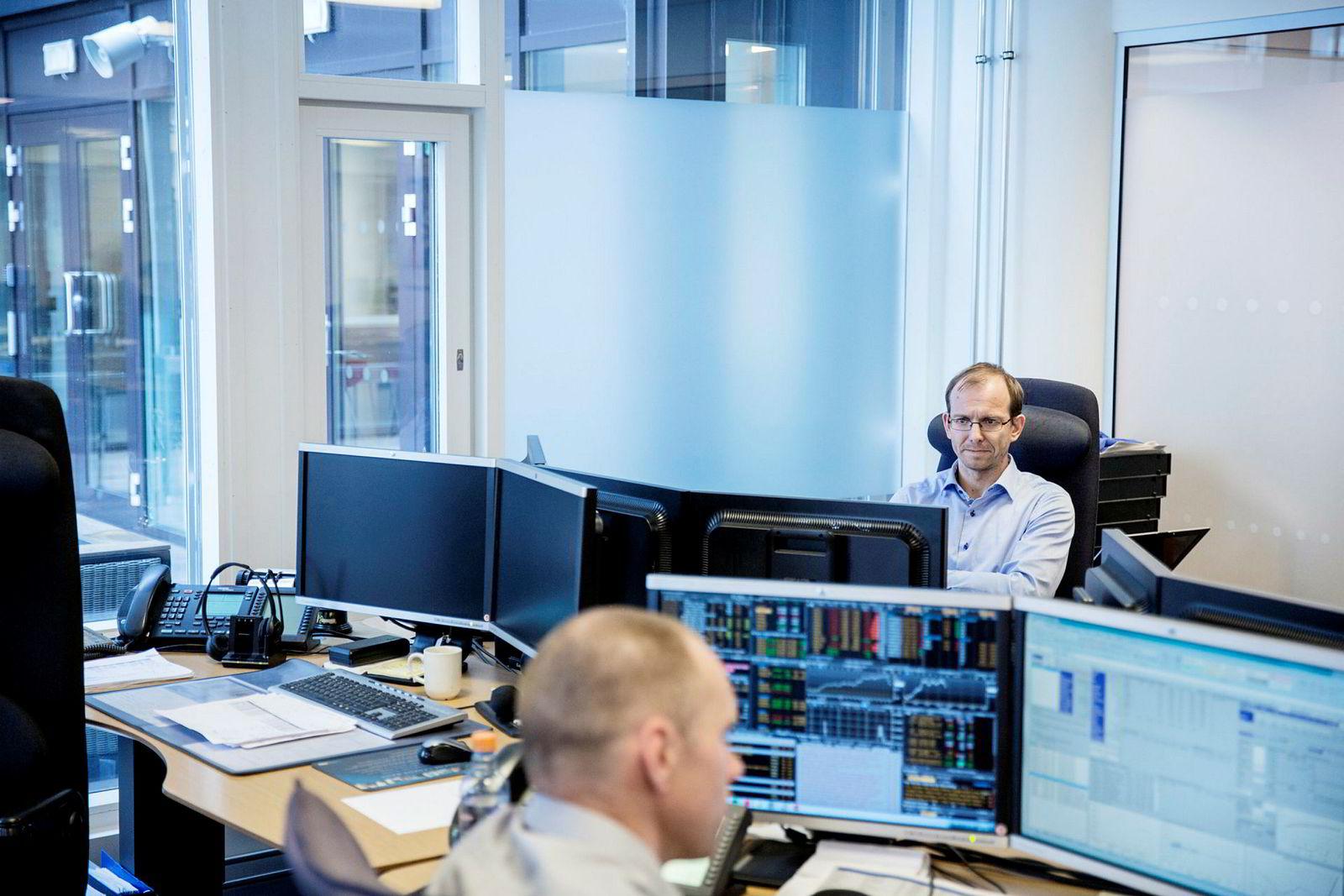 Leder for norske renter Jacob Børs Lind i Danske Capital.