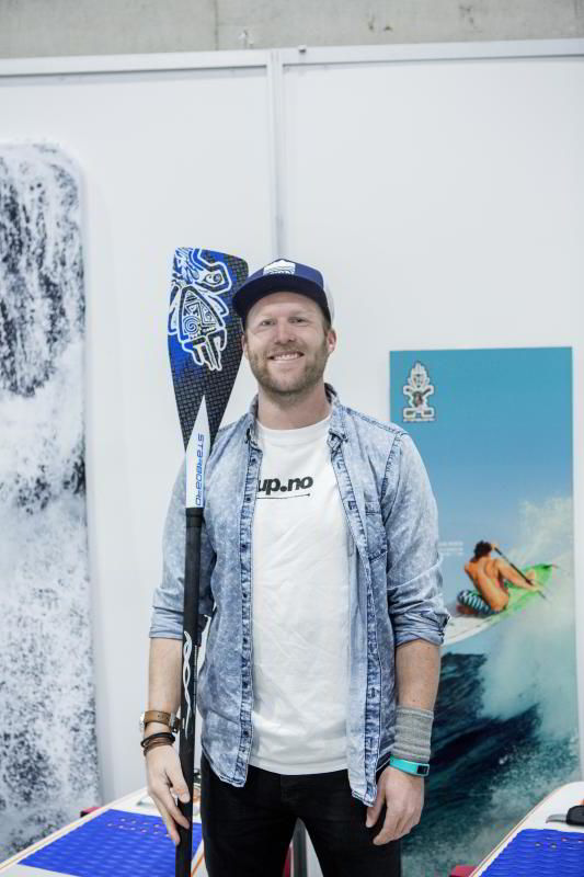Gründer Gaute Kristiansen (30) i SUP.no.