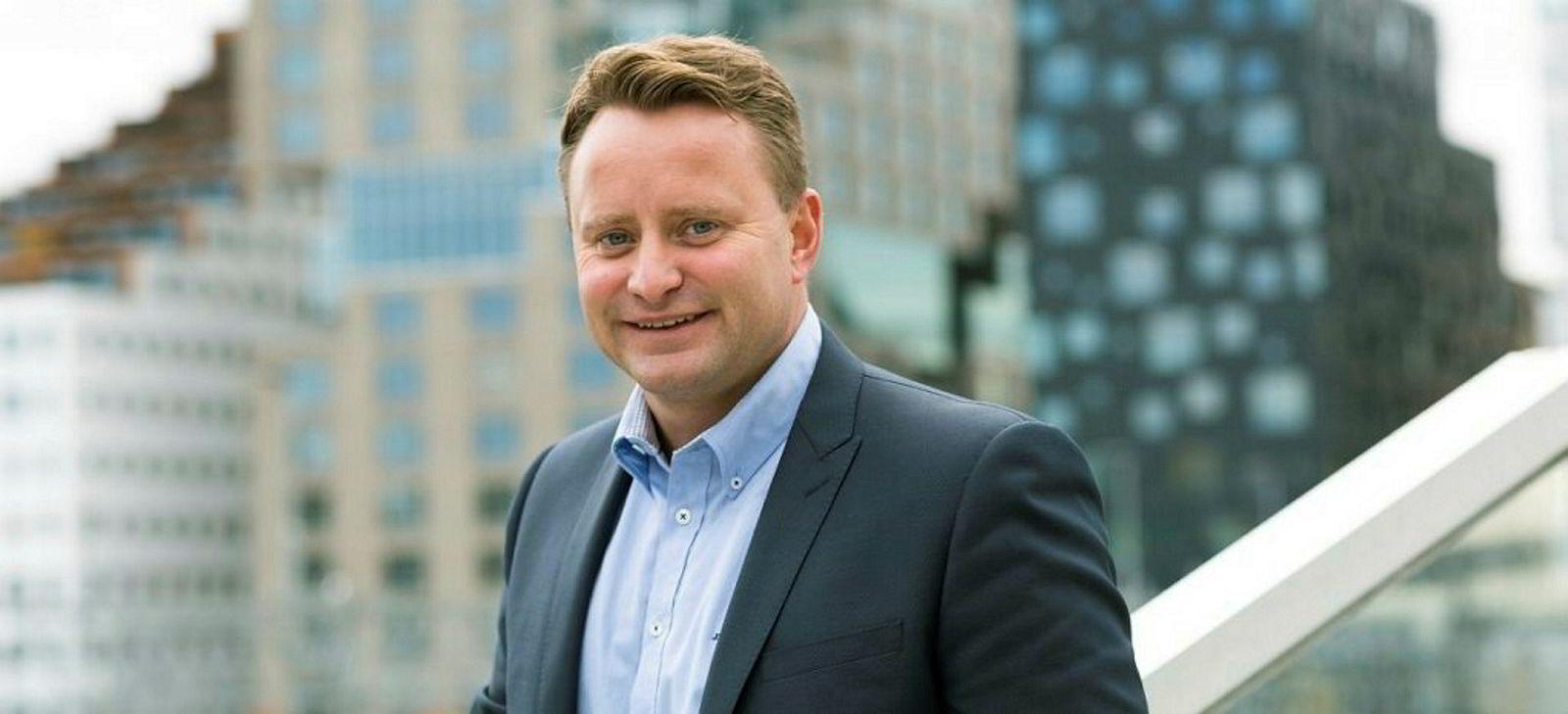Daglig leder Eirik Frøytlog, DNB Lillestrøm.