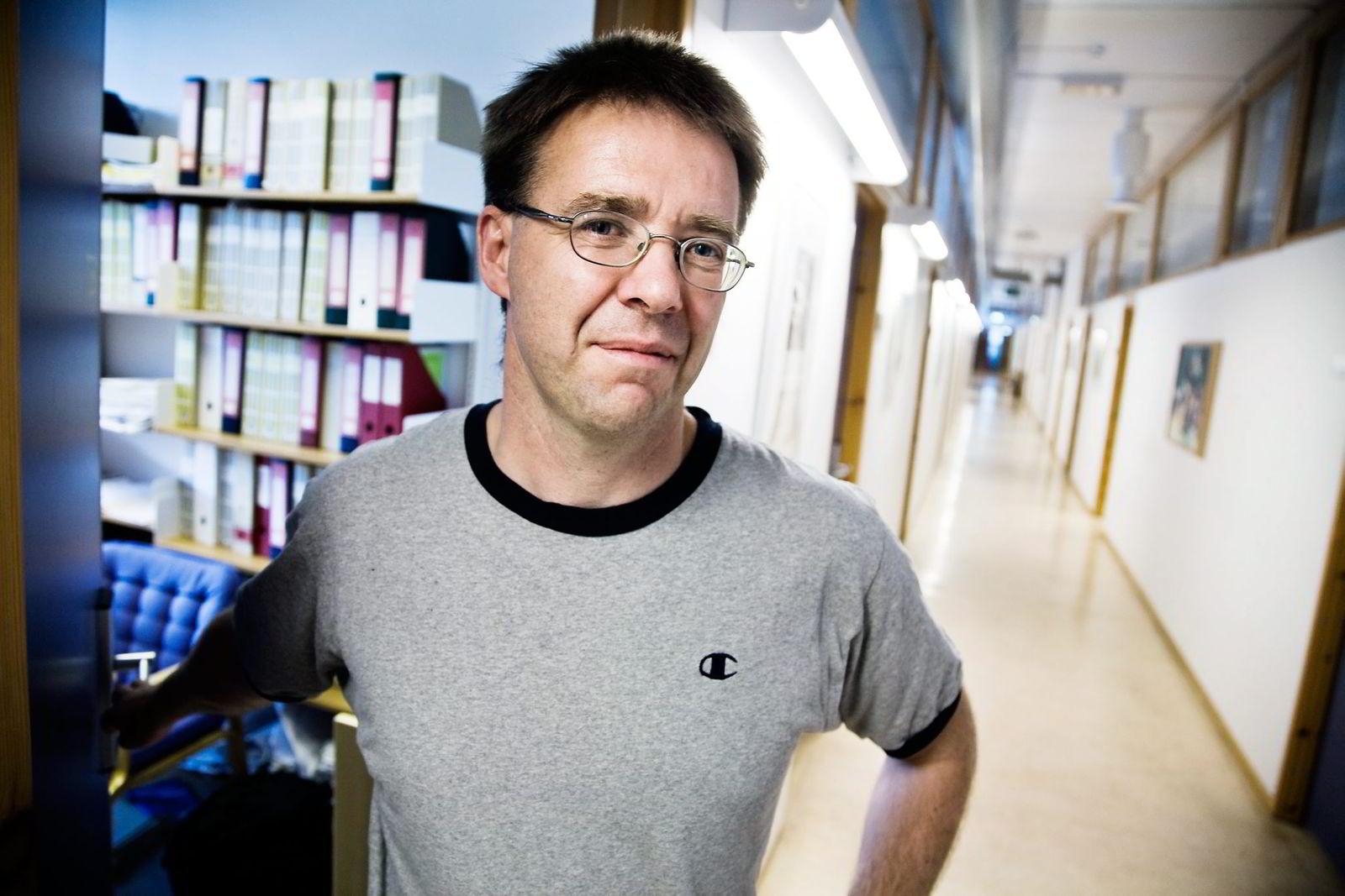 Lars Erik Borge, økonomiprofessor fra NTNU.