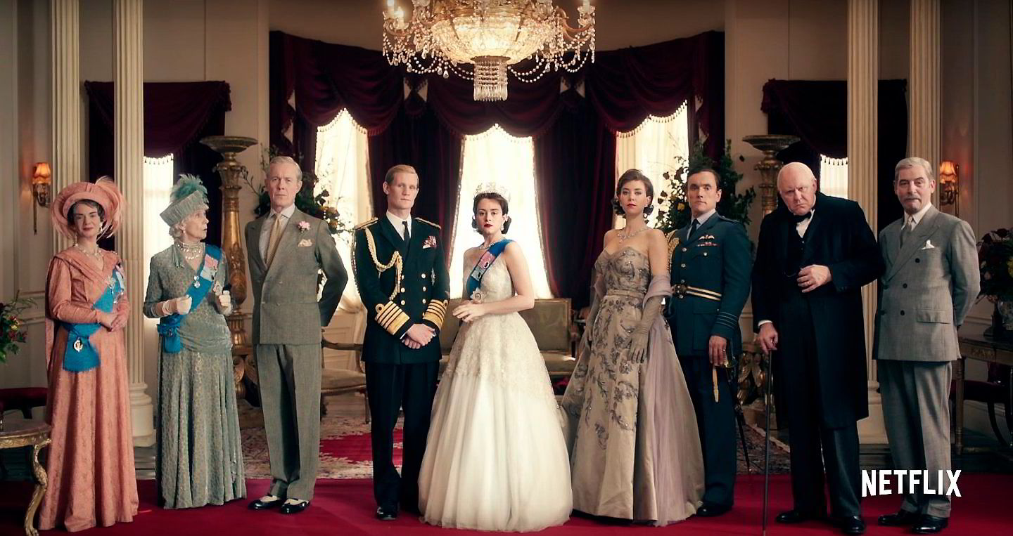 «The Crown» slippes på Netflix fredag 4. november.