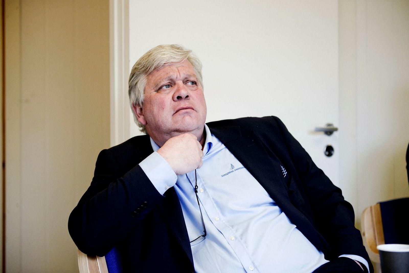 Banksjefen Jon Guste-Pedersen i Skagerrak Sparebank er ikke enig i at banken ville sluppet billigere unna dersom den hadde solgt subsea-bedriften Vestmar til gründeren Bjørn Rygg. – Det blir bare spekulasjoner, mener han.