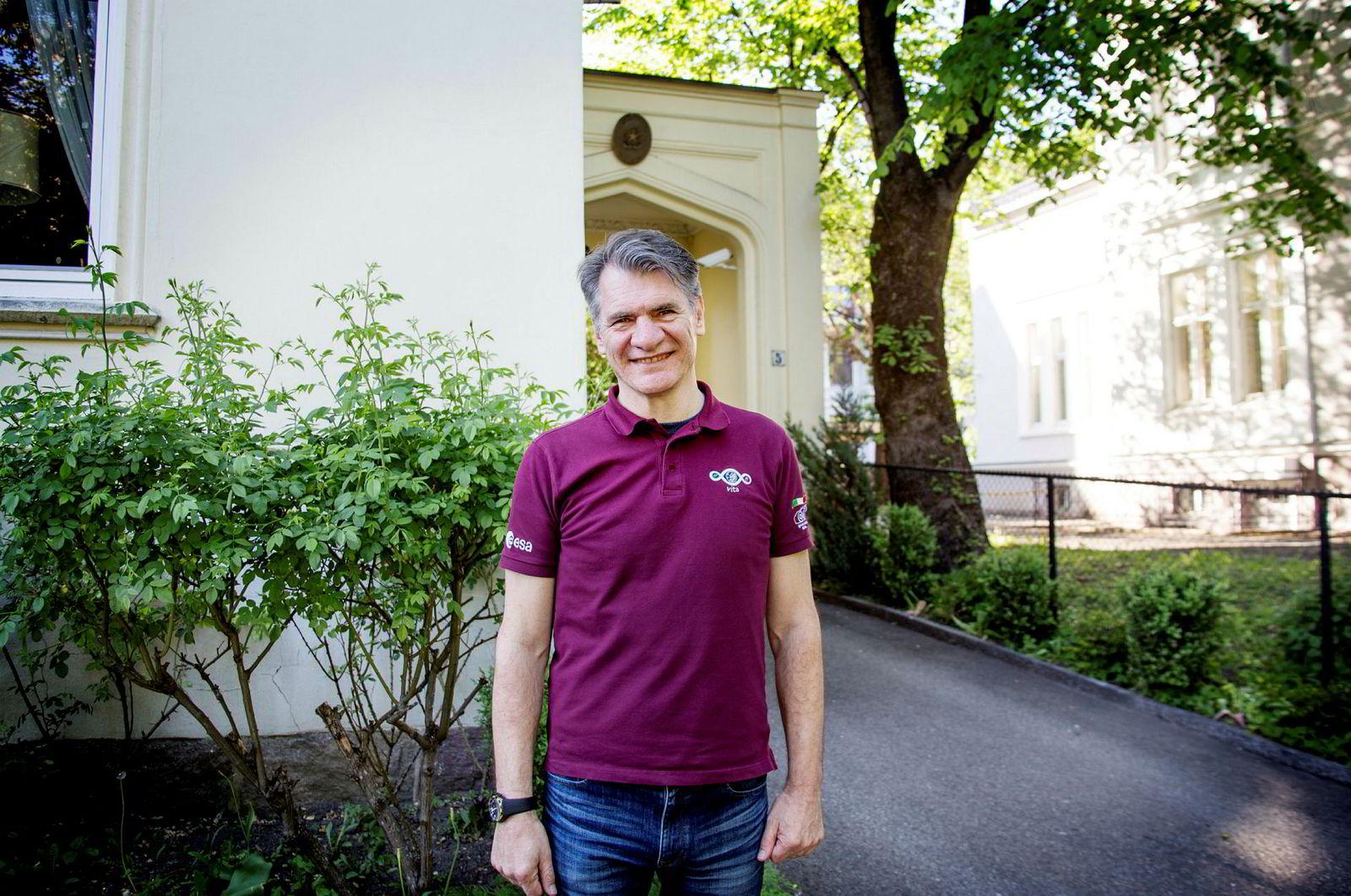 Italienske Paolo Nespoli (61) har tilbrakt 313 dager i verdensrommet.