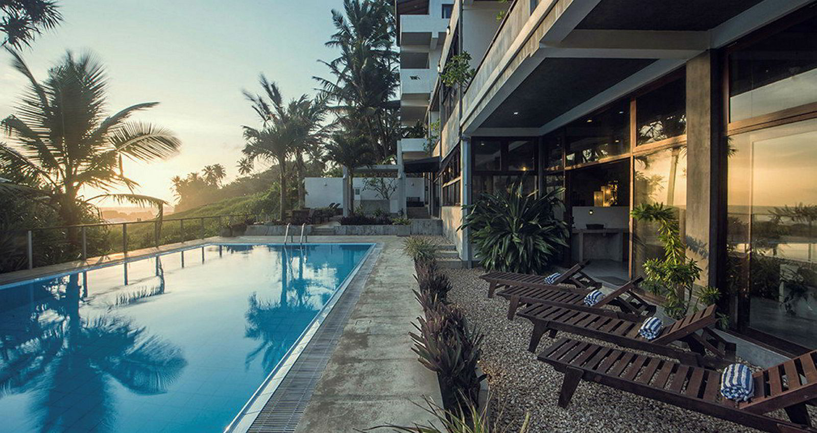 Et av Kurt Mosvolds hoteller på Sri Lanka, Amba Ayurveda Boutique Hotel