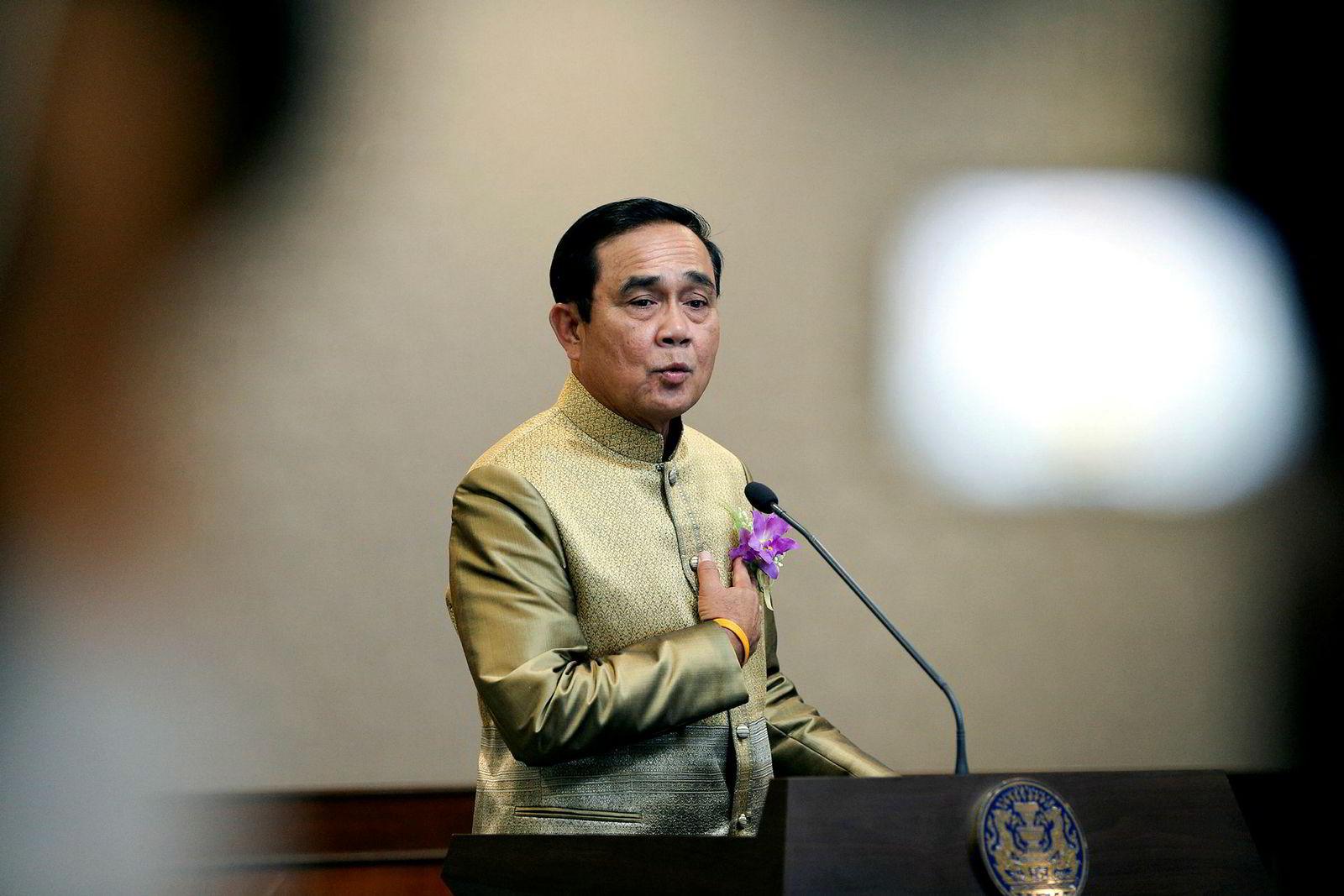 Prayut Chan-o-cha, statsminister.