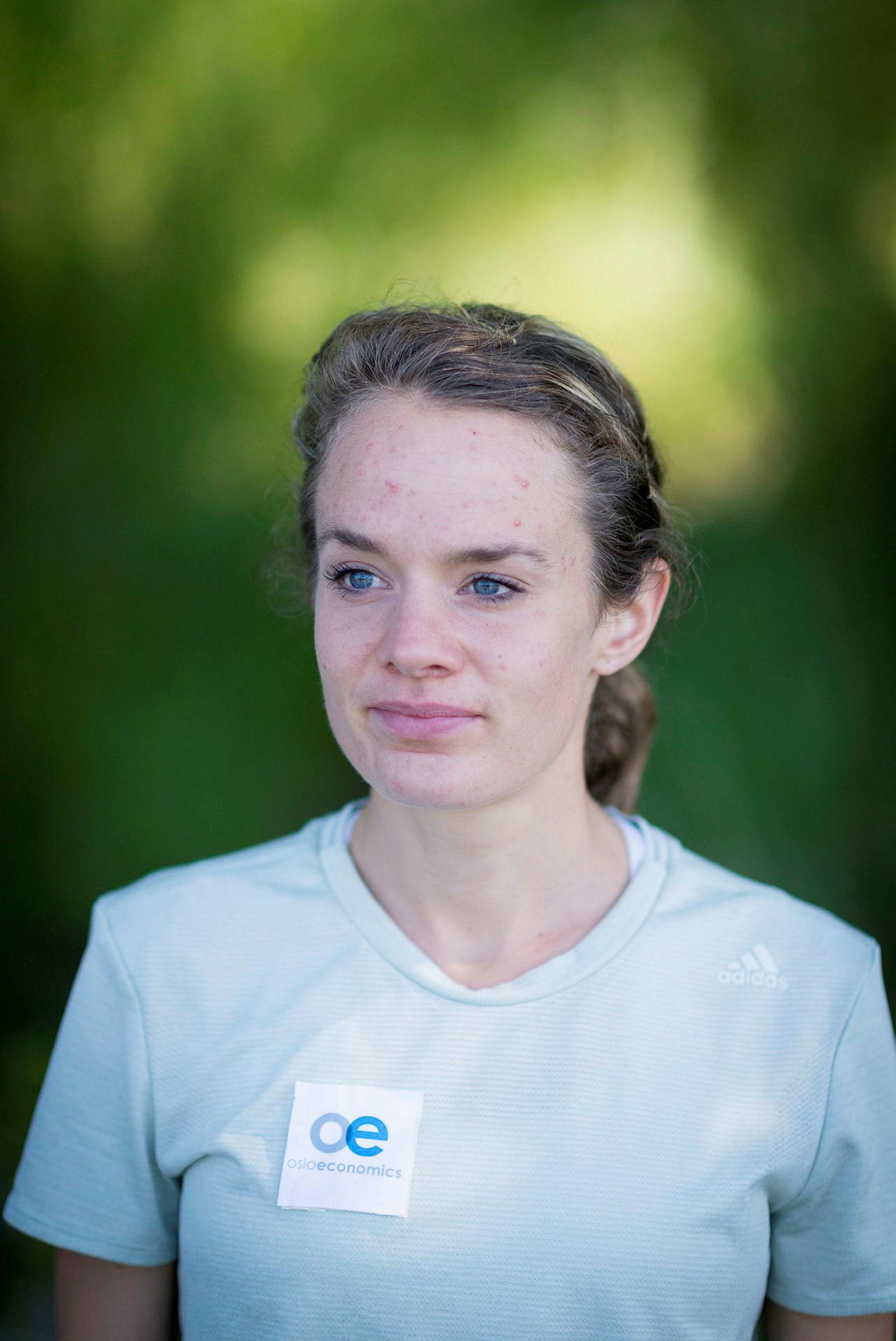 Nye mål. En dag skal Runa Skrove Falch løpe maraton på under to timer og 30 minutter. Kanskje skjer det allerede nå i høst.