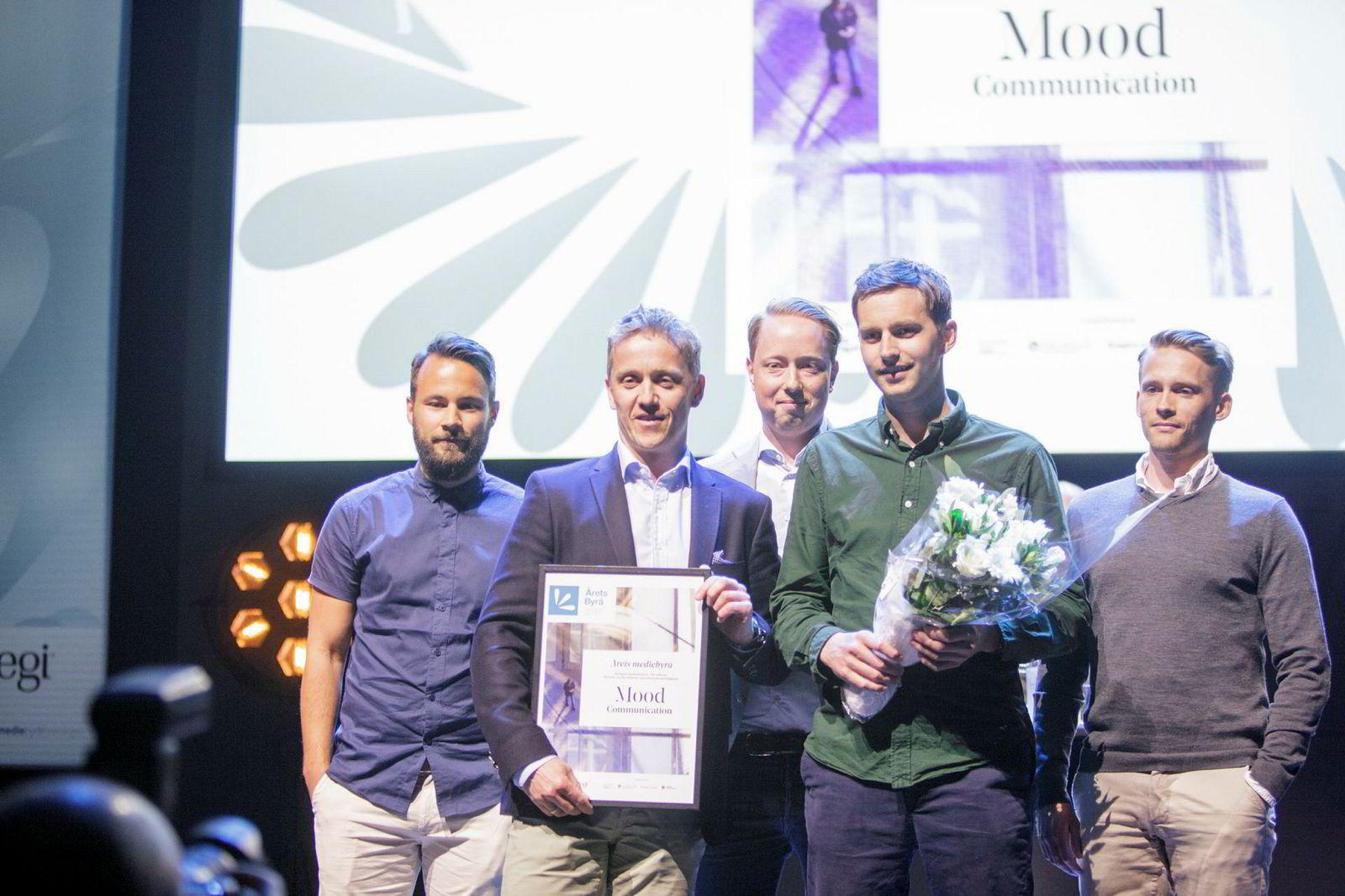 Mood Communication ble årets mediebyrå med byråinntekt mellom seks og 50 millioner kroner.
