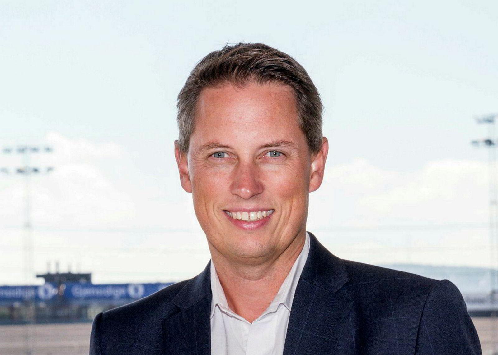 Carl Fredrik Stenstrøm bytter jobb.