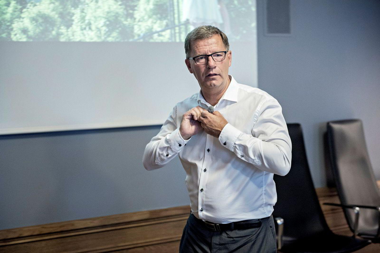 Finansbyråd Robert Steen i Oslo kommune.