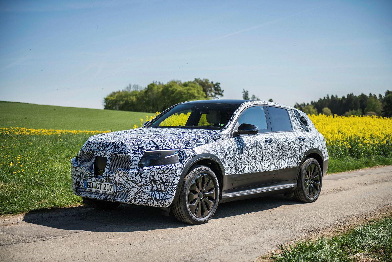 Bilen går i strupen på Jaguar I-Pace og Audi E-Tron, når den kommer i 2019.