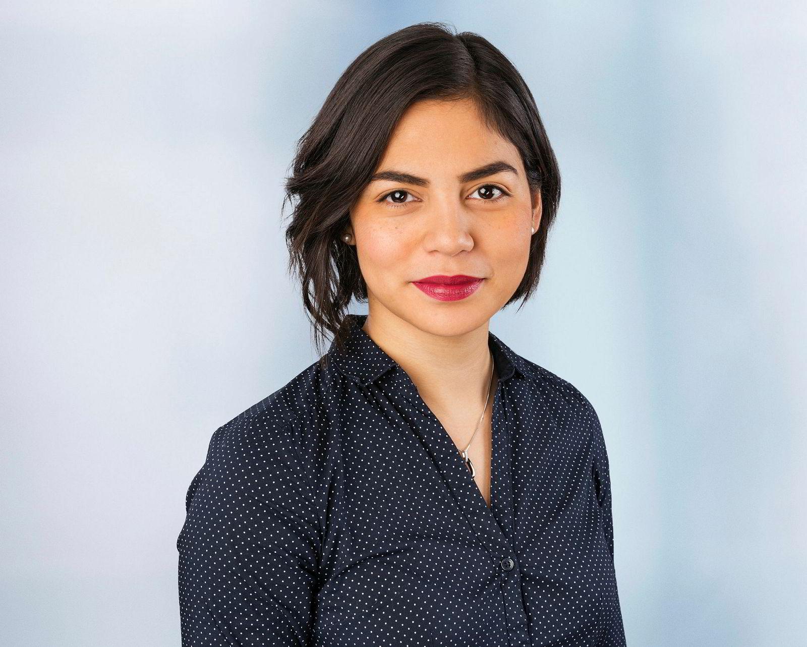 Oljeanalytiker Paola Rodríguez-Masiu i Rystad Energy.