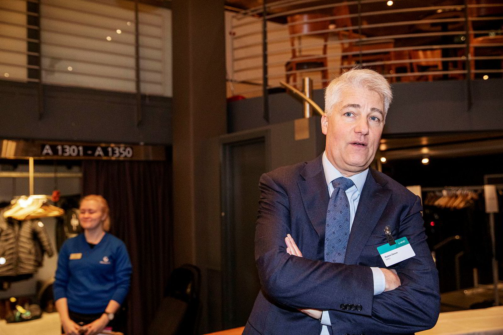 Sjeføkonom i NHO, Øystein Dørum, skal selv stå på scenen onsdag.