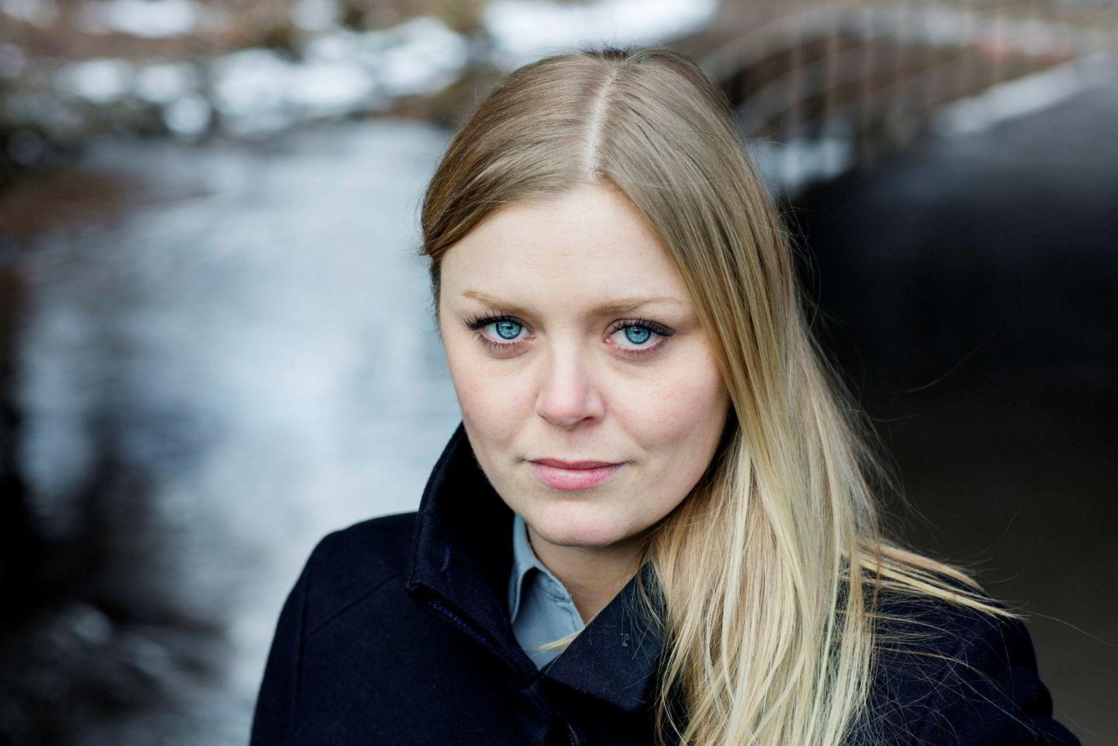Høyre-politiker Tina Bru mener det er utrolig at et gigantselskap som Statoil ikke har bedre kjønnsbalanse.