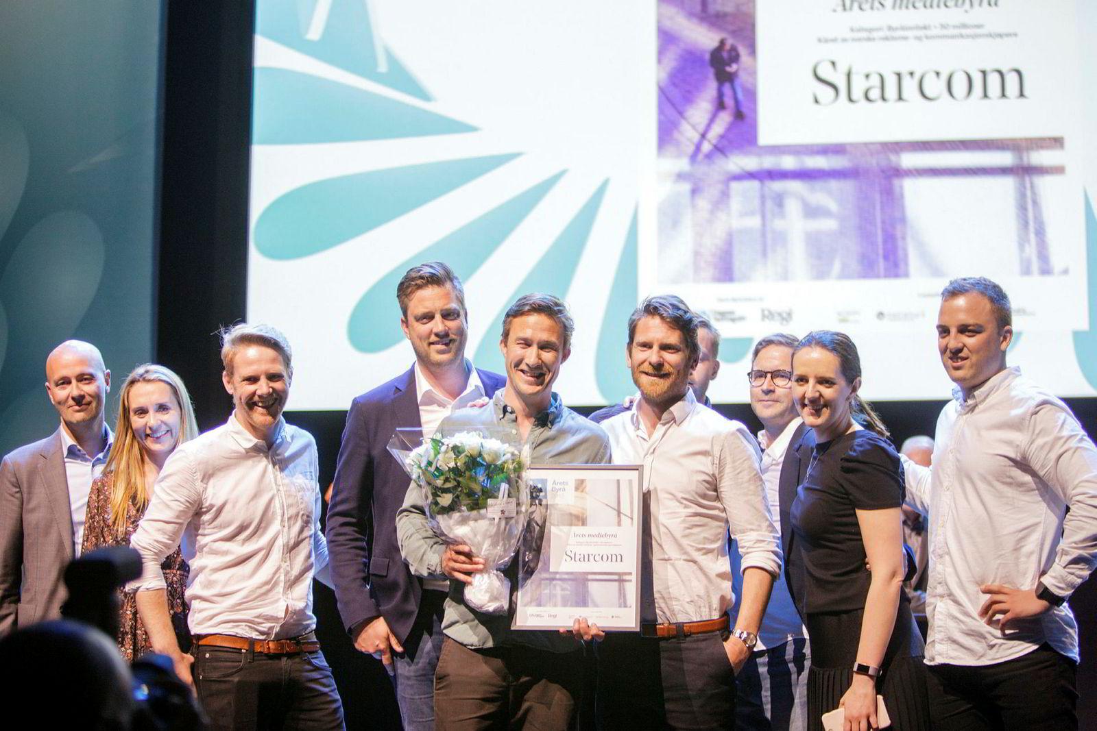 Starcom stakk av med hovedprisen under torsdagens utdeling.