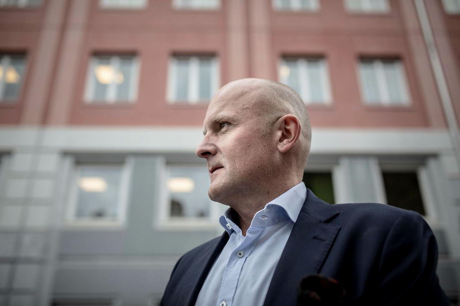 Administrerende direktør Kent Victor Syverstad i Eiendomsmegler 1.