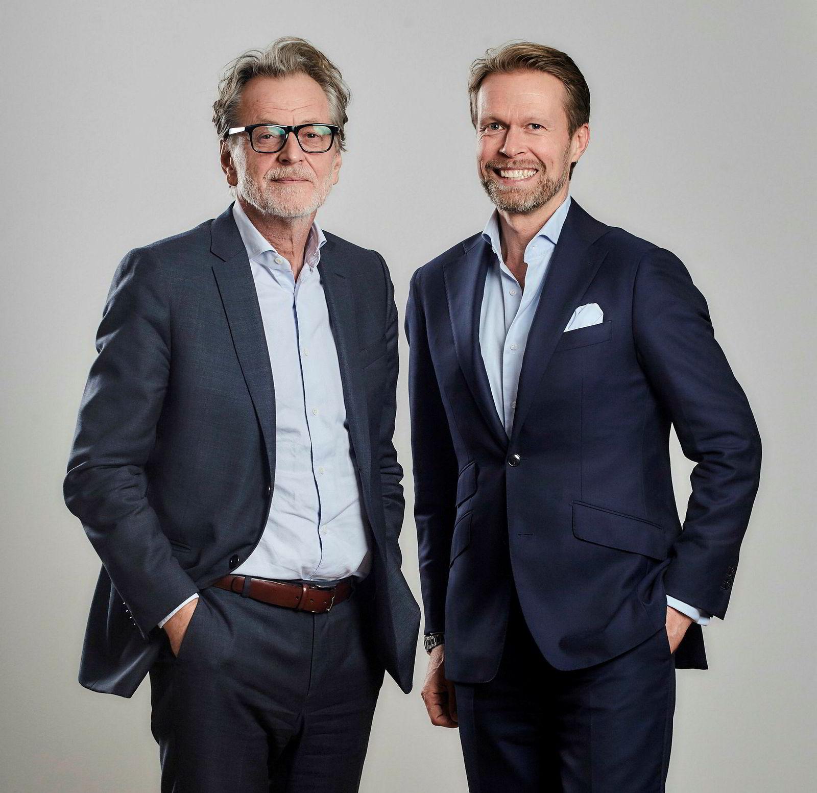 F.v: Harald Møller og Sigurd Haavik.