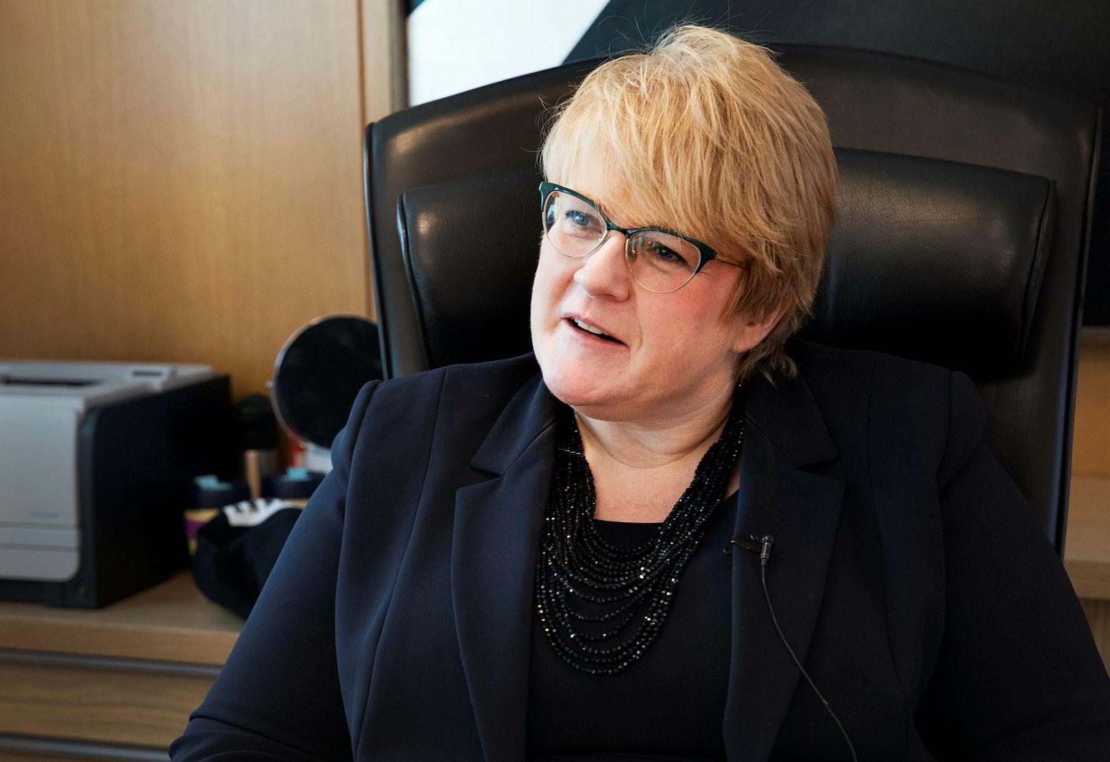 Kulturminister Trine Skei Grande.