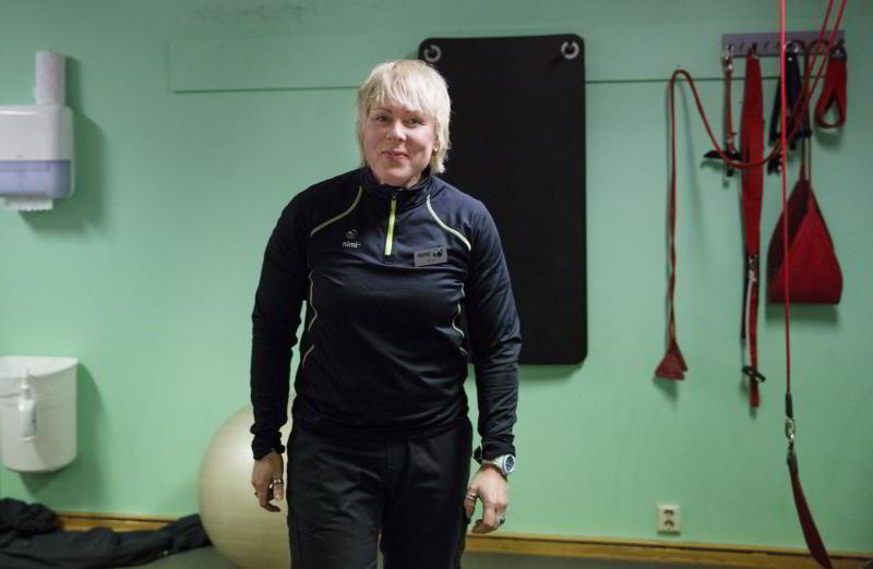 Personlig trener Merete Hornes ved Nimi i Oslo.