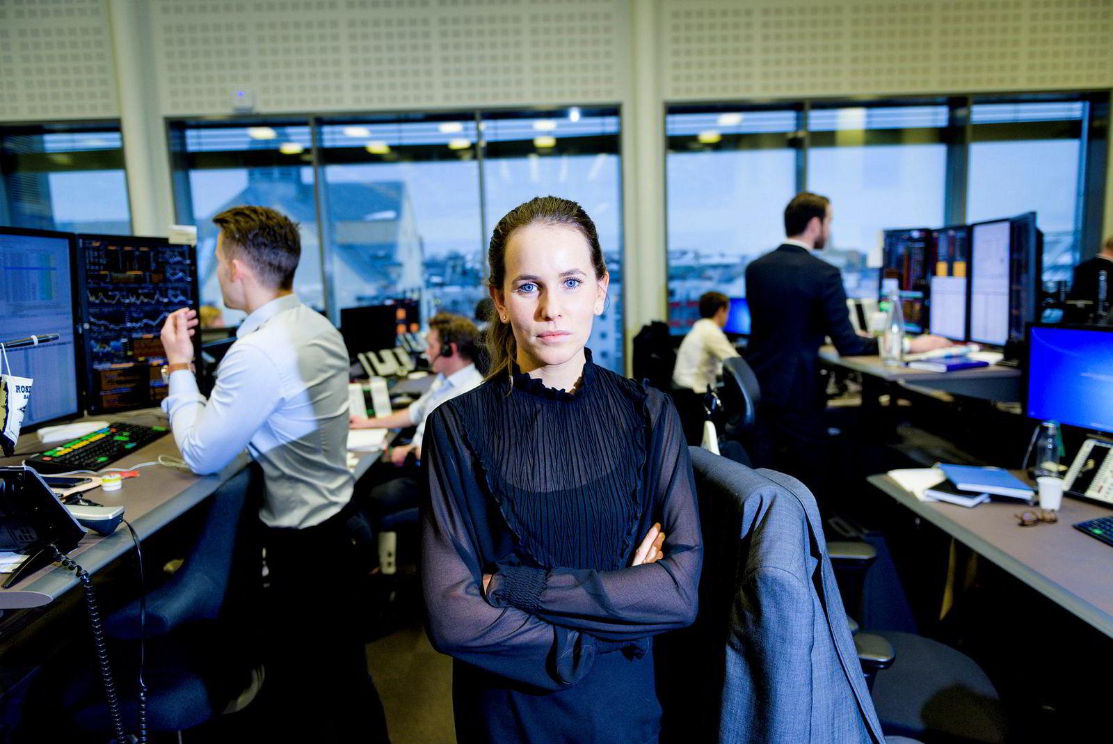 Rente- og valutaanalytiker Ingvild Borgen Gjerde i DNB Markets tror norske kronen vil være svak i tiden fremover.
