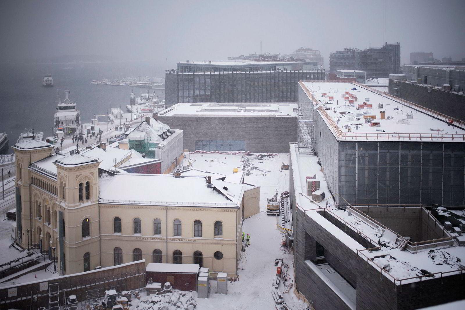 Statsbygg fikk varsler om seksuell trakassering fra to kvinnelige ansatte på byggeplassen i Oslo som skal bli det nye Nasjonalmuseet.