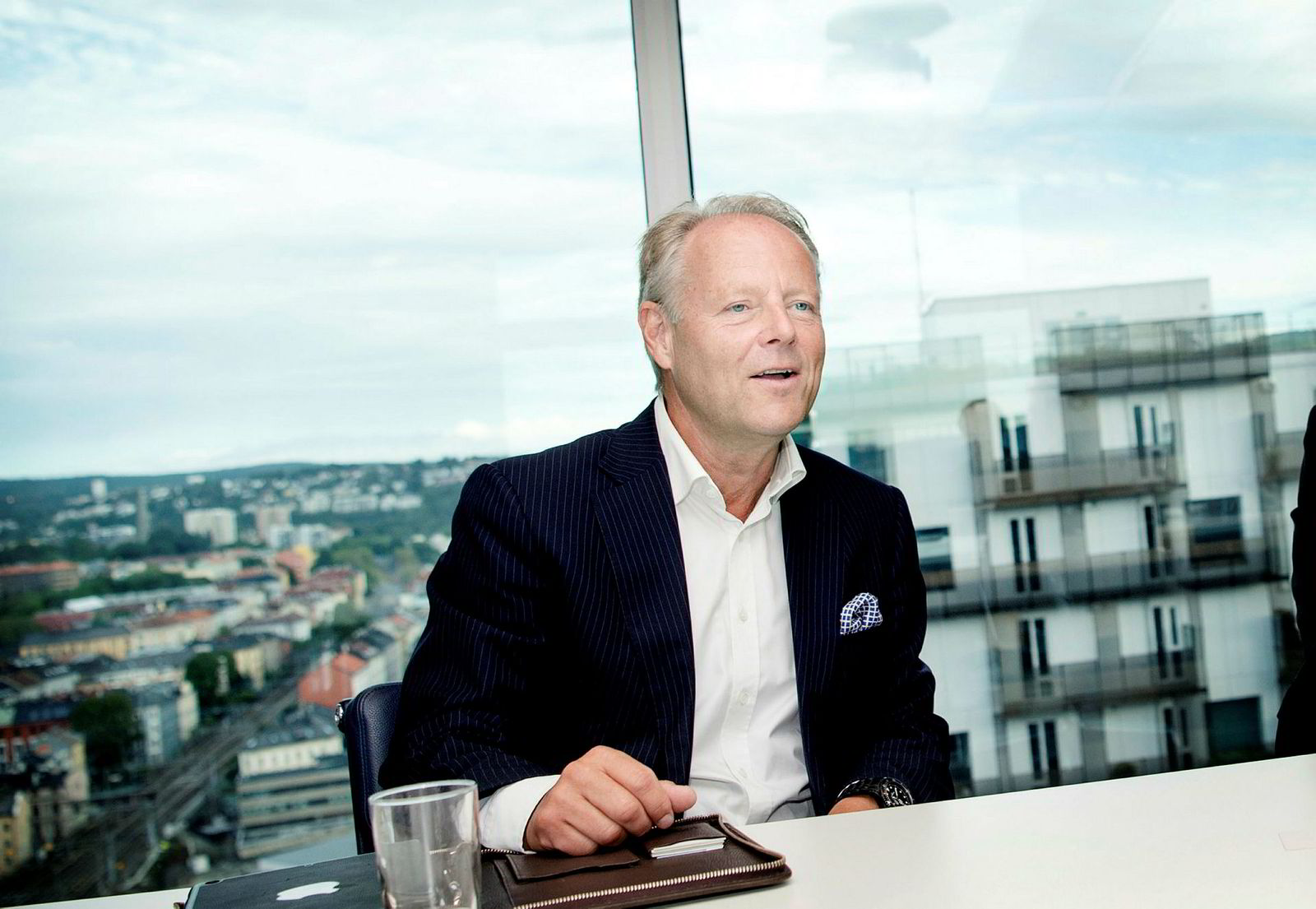 – Når man nesten dobler pengene på 8,5 måneder, så sier jeg takk, sier Rune Rinnan i Televenture og Norsk Innovasjonskapital, som tjente nesten 20 millioner for kundene på under ett år.