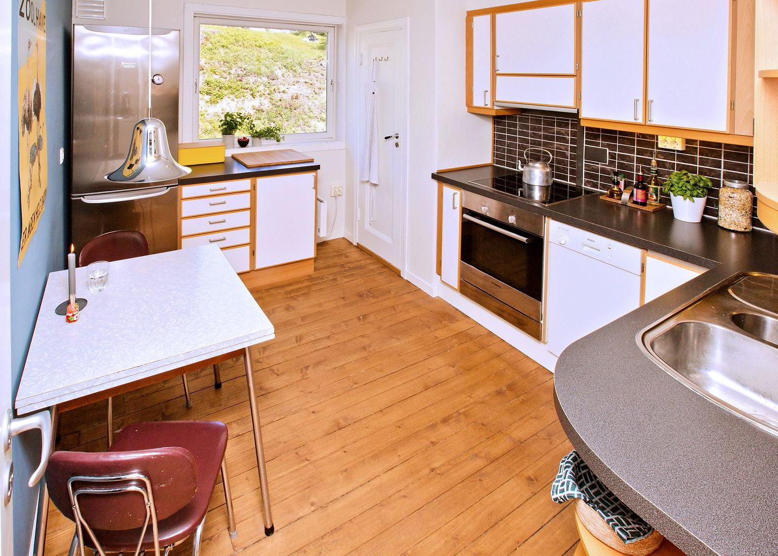 Alf Lund Godbolt (32) og Susann Bugge Kambestad (32) solgte leiligheten de hadde i Bredalsmarken i Bergen selv.