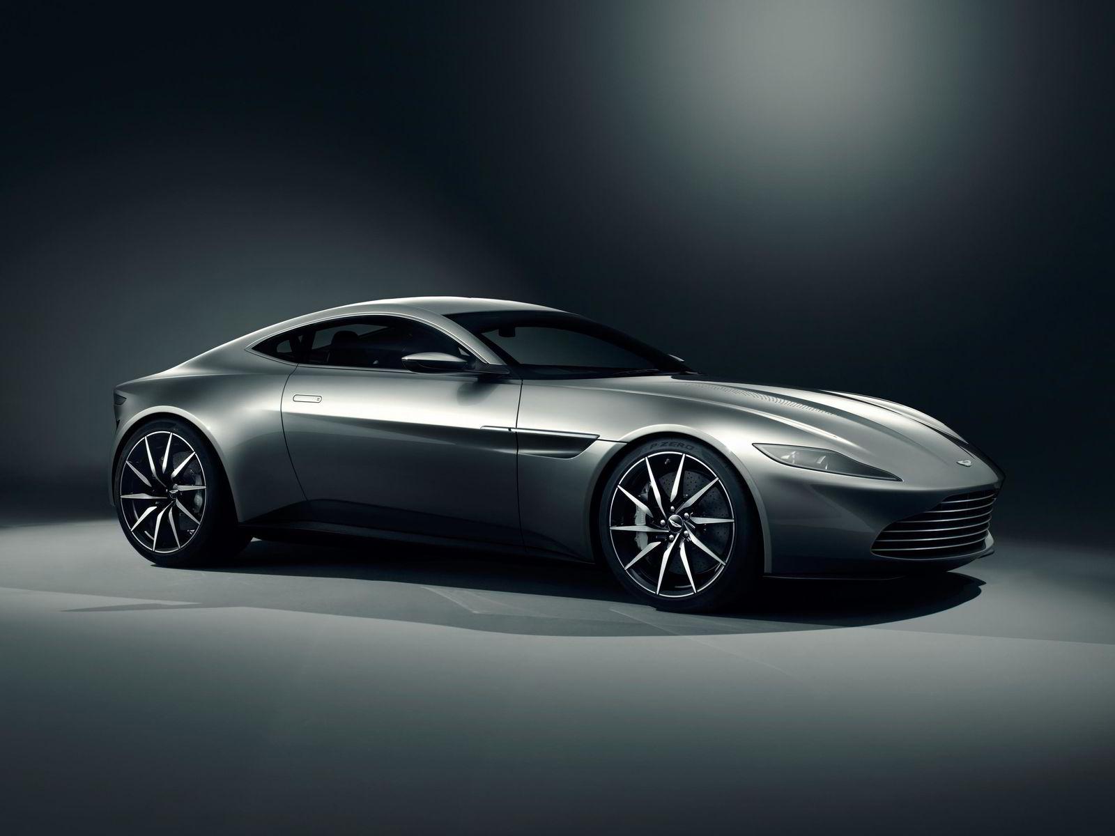 Dette er Aston Martin DB10 som James Bond skal kjøre i