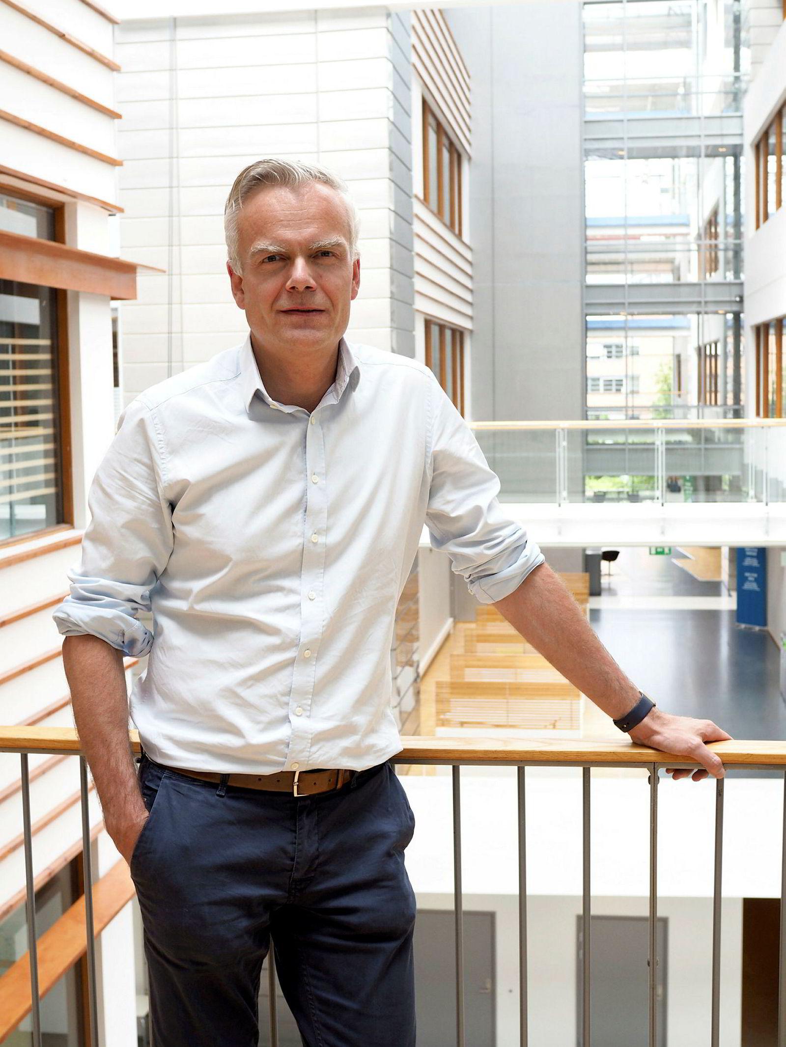 Konsernsjef i Sonansgruppen, Erik Brandt.
