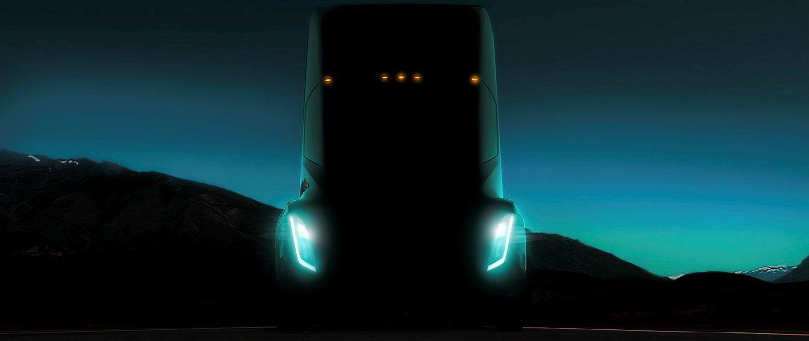 Tesla skal presentere en elektrisk lastebil i høst.