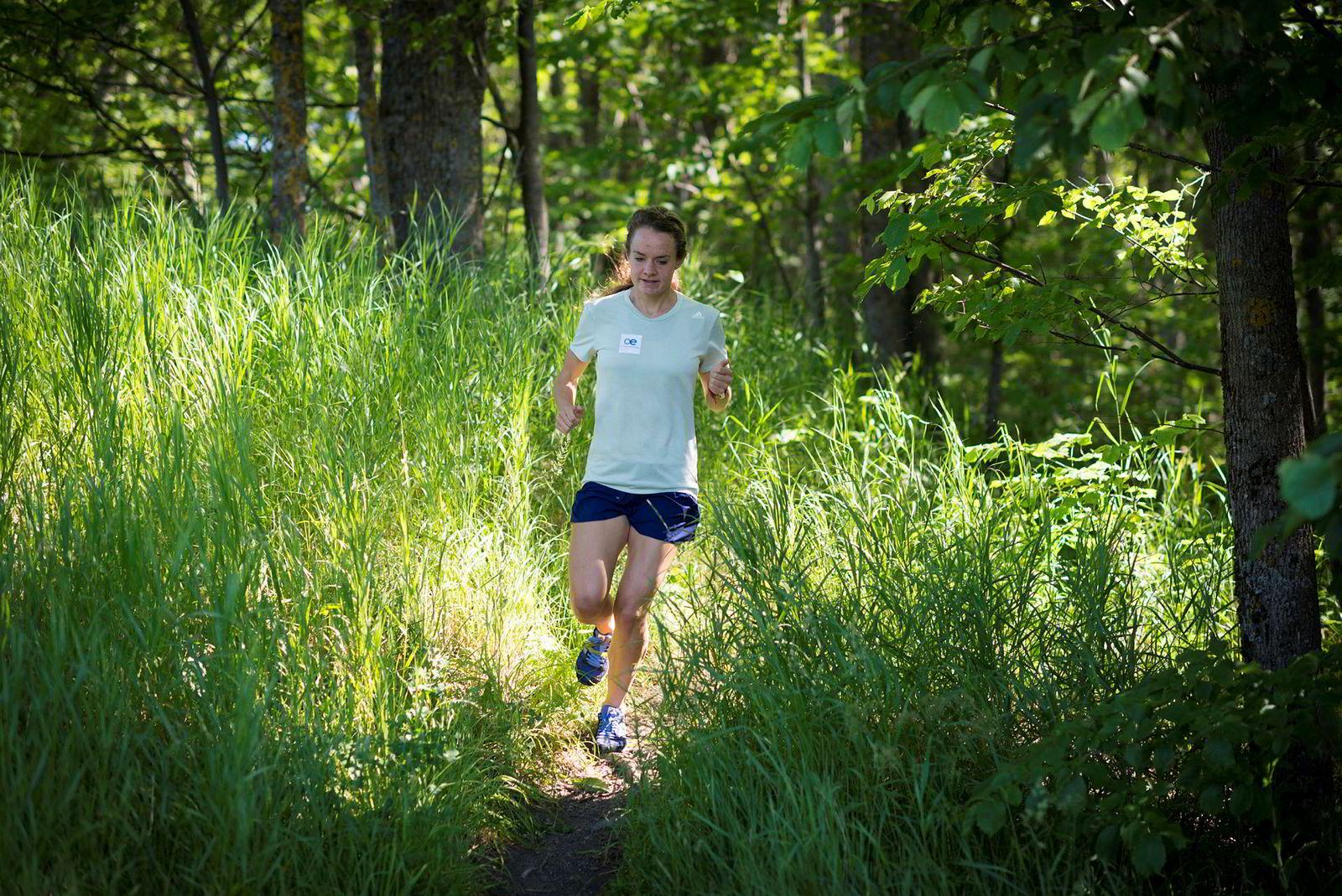 Presser seg. I et maraton er det den aerobe kapasiteten som gjelder. Men anaerob kapasitet kan utgjøre en forskjell når det står om gull, sølv, bronse eller en god plassering.