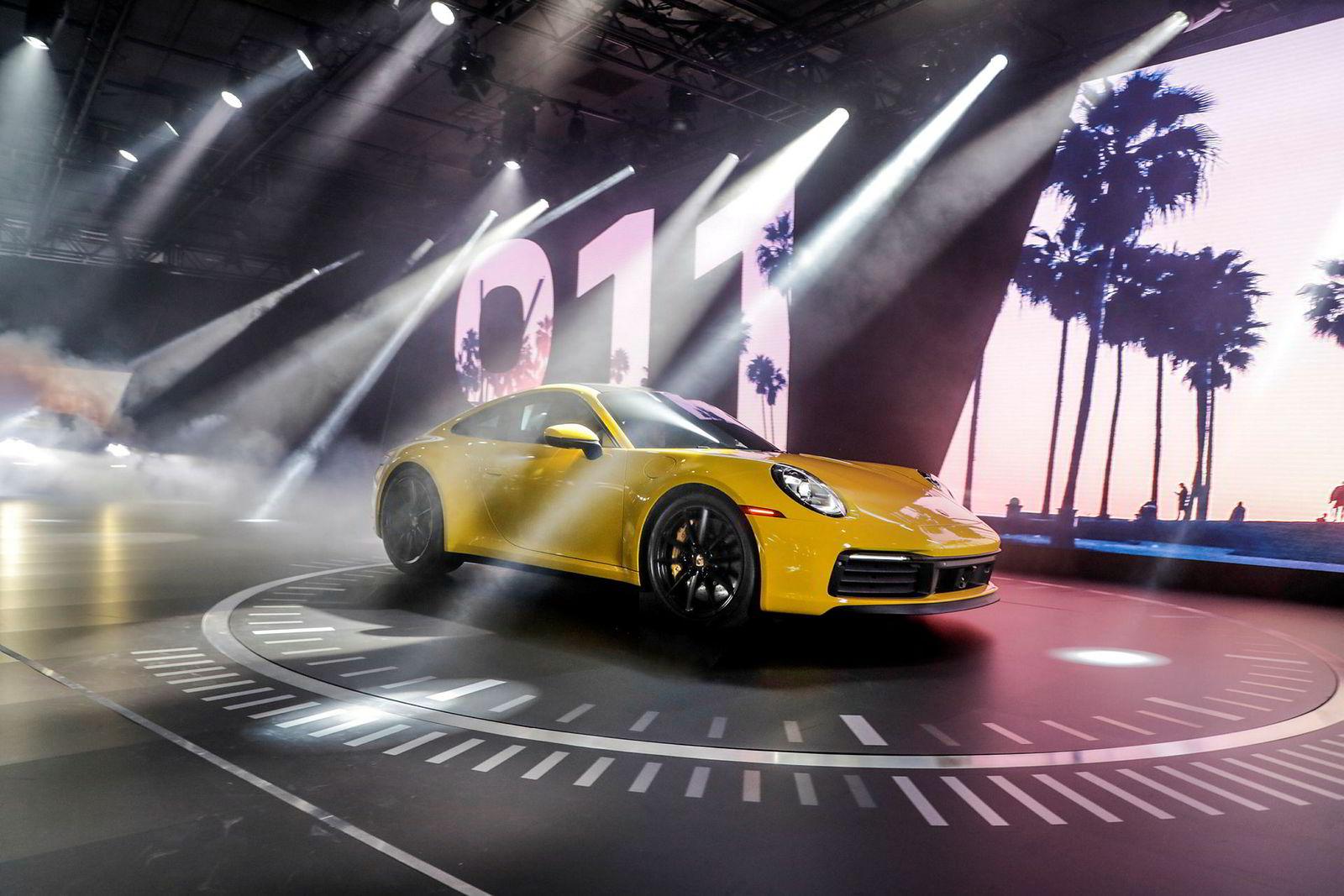 . Porsche 911 – 992-versjon debuterer i Los Angeles.