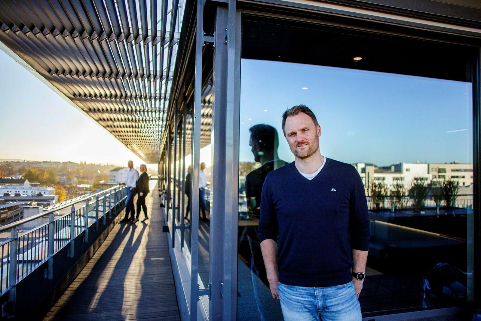Yngve Tvedt i Norselab startet Skioo i 2012 og blir styreleder i fusjonerte Skitude Holding.