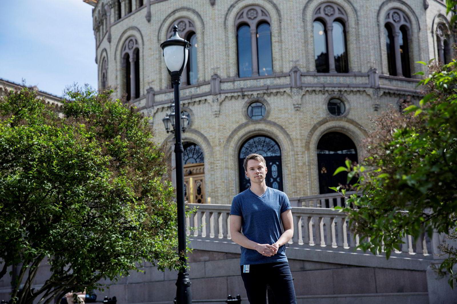 Thomas Lien er kommunikasjonsrådgiver i Venstre.