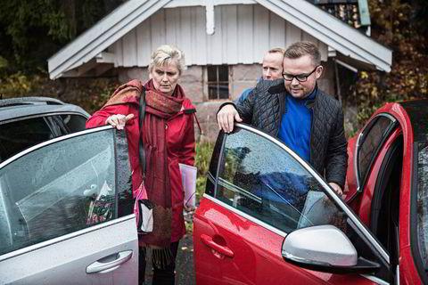 Fords Anne Sønsteby skal kjøre fjorårsvinner Skoda Octavia, mens Volvos Rune Gutteberg Hansen klargjør sin egen deltager, Volvo V40, for Alexander Tindal fra Citroën.