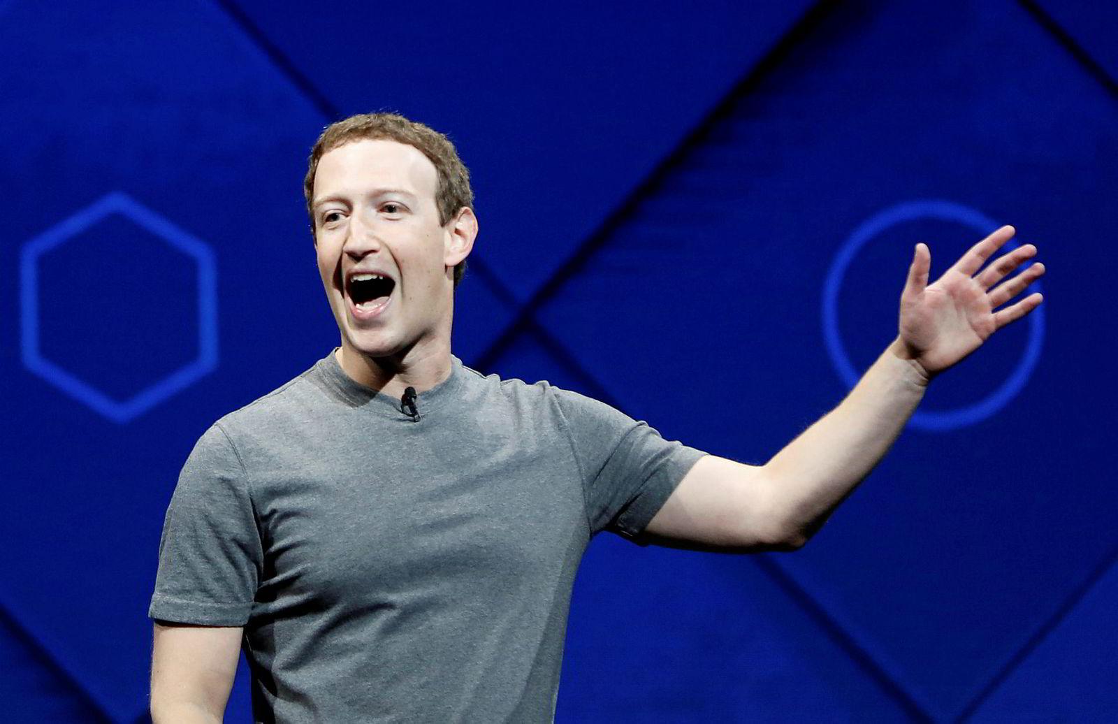 Facebook-sjef Mark Zuckerberg varsler endringer.