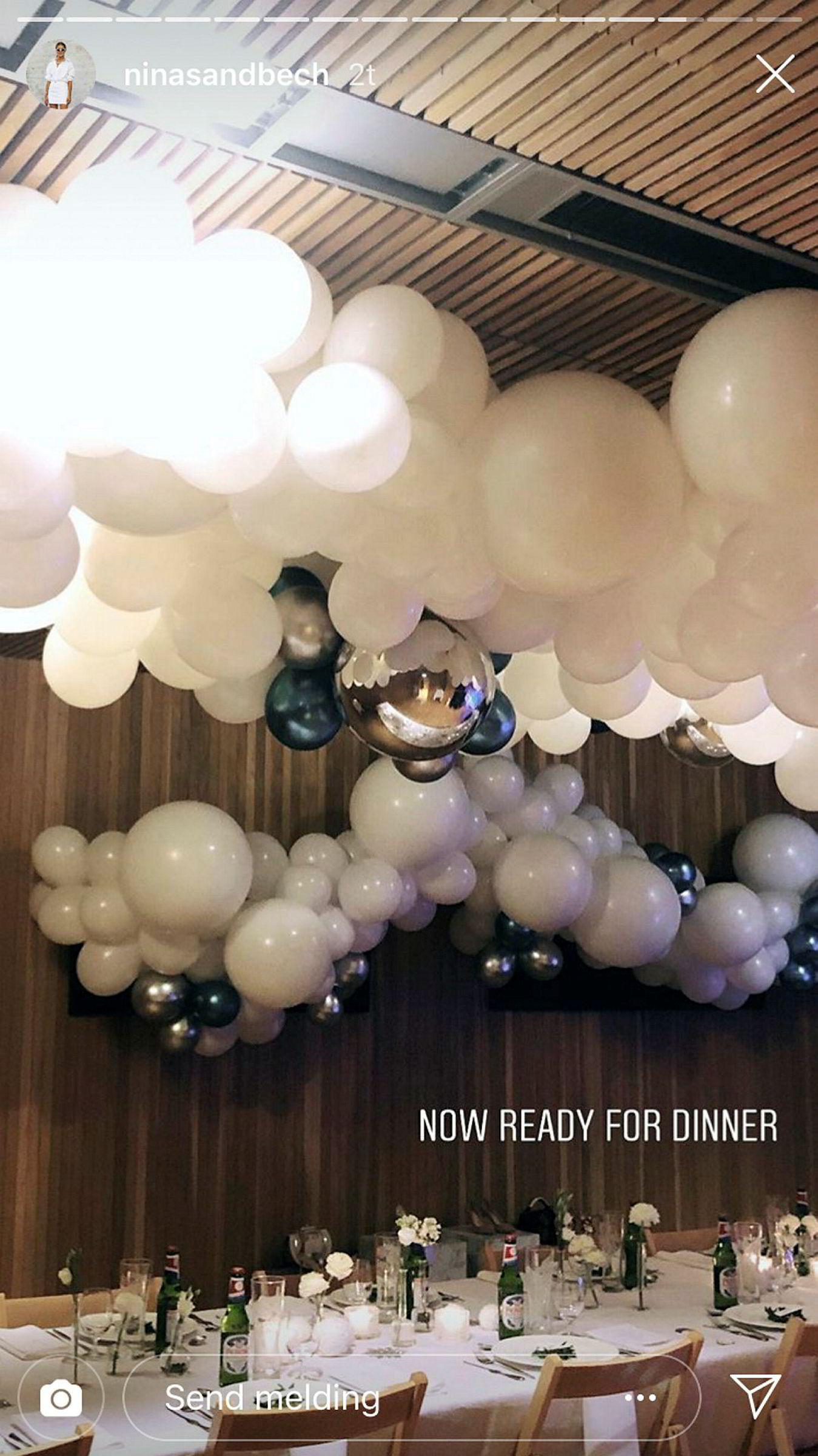 For arrangørene bak middagen i Operaen, var det viktig at Peroni ble servert under middagen.