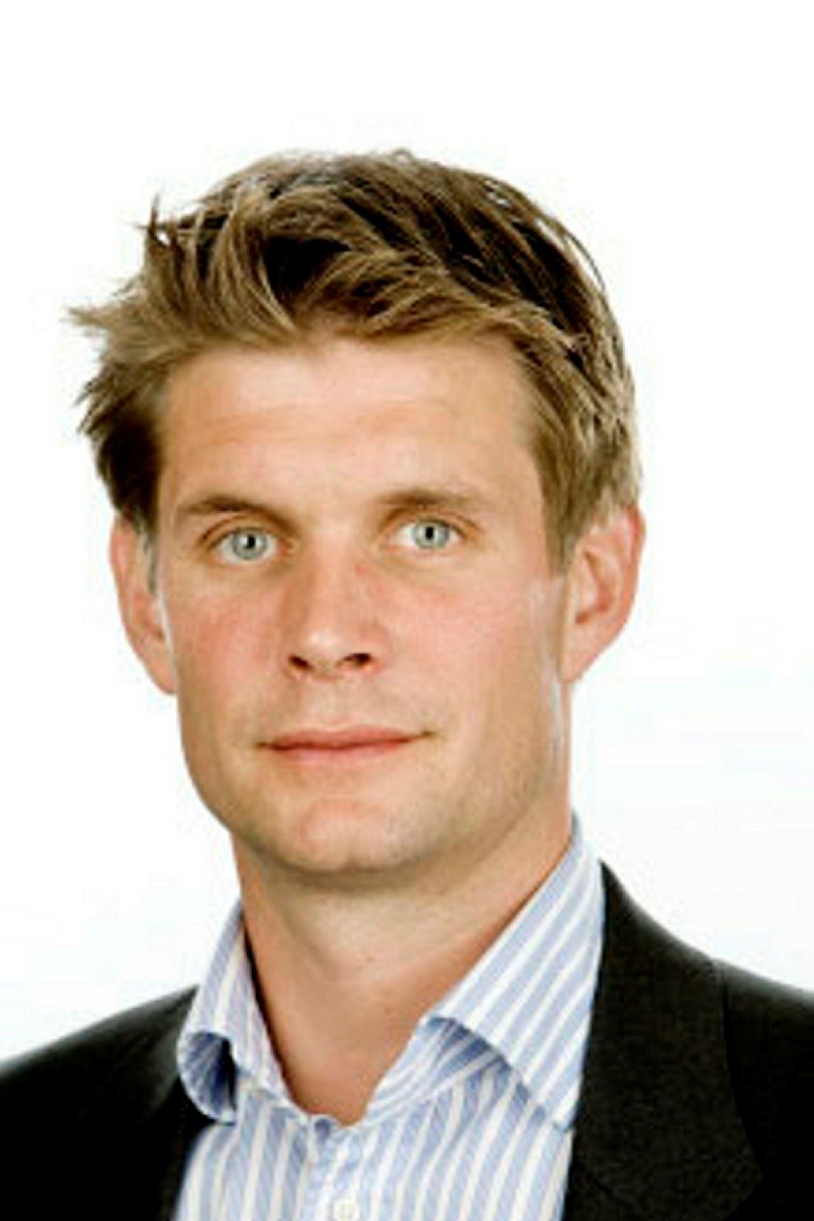 Kommunikasjonssjef Nicolay Bruusgaard i Ringnes.