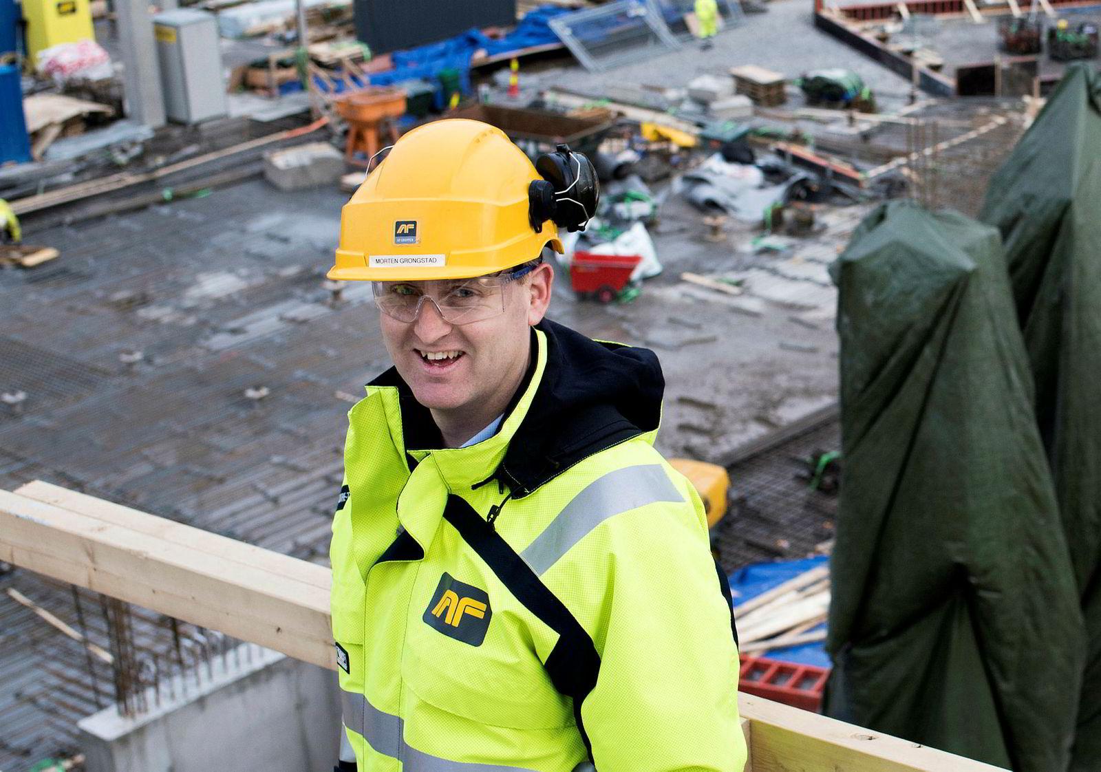 – Nå vil vi, i takt med et godt marked og et godt salg, sluttføre prosjektet noen år før antatt, sier konsernsjef Morten Grongstad AF-Gruppen om Krydderhagen.