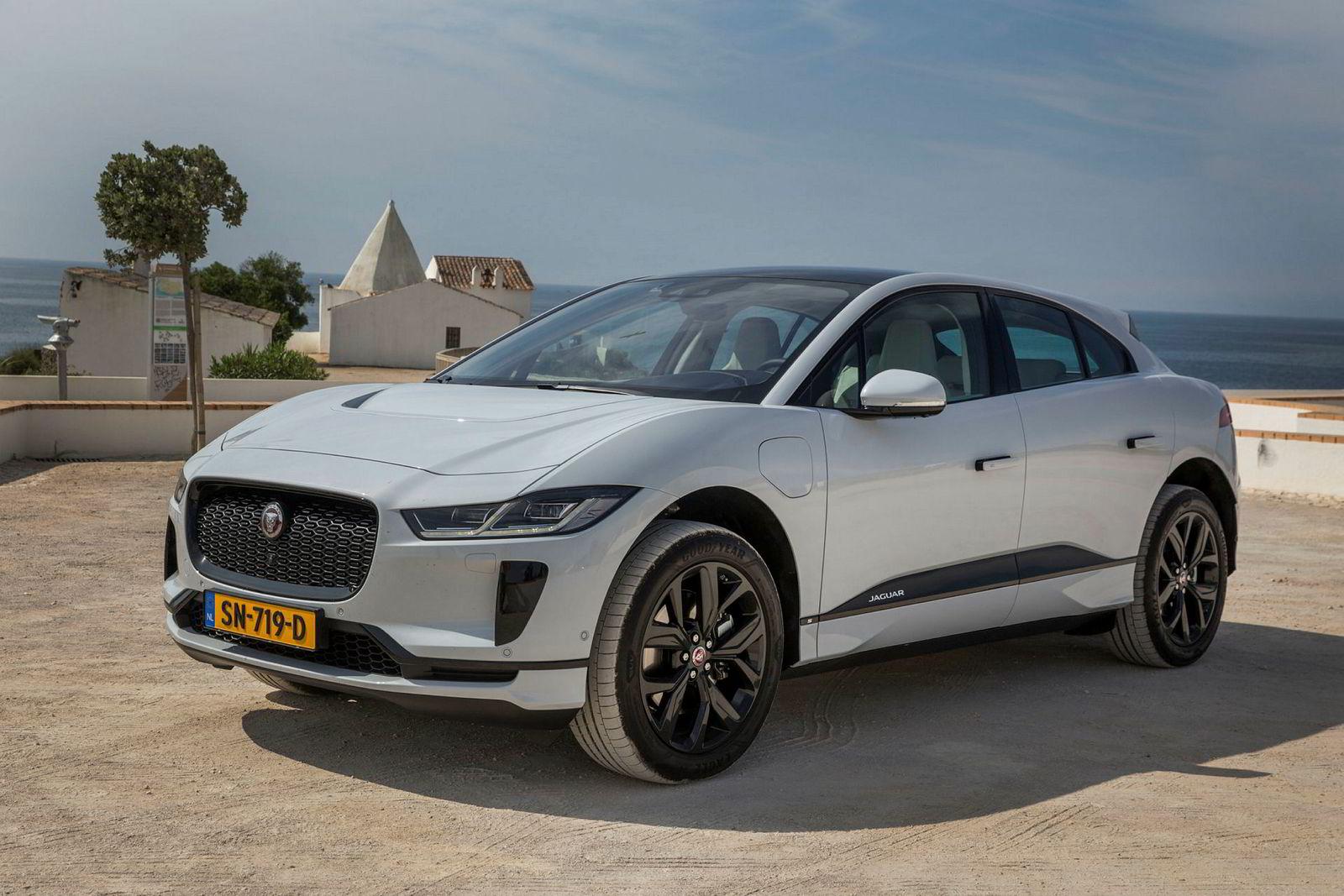DN testet Jaguars nye elbil, I-pace, i Portugal mai 2018. Bilen kan har 400 hestekrefter og en startpris på 600 tusen kroner.