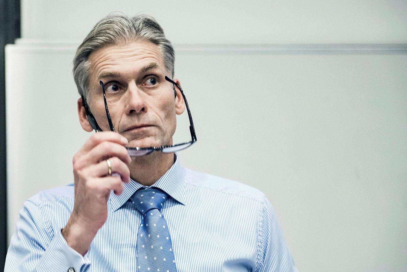 Norske Thomas Borgen var toppsjef i Danske Bank fra 2013 til han gikk av som følge av hvitvaskingsskandalen i oktober 2018. Før han ble toppsjef ledet han Danske Banks internasjonale virksomhet, herunder den estiske filialen, fra 2009 til 2012.