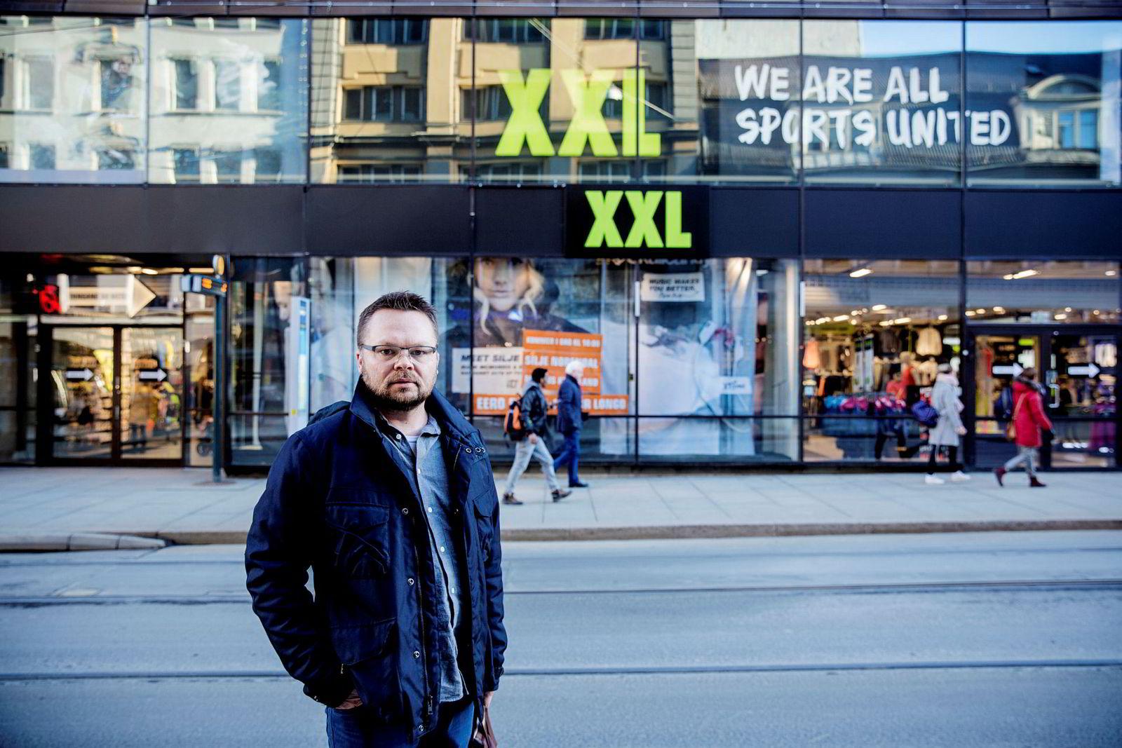 Tidligere driftsdirektør i XXL, Anders Fjeld.