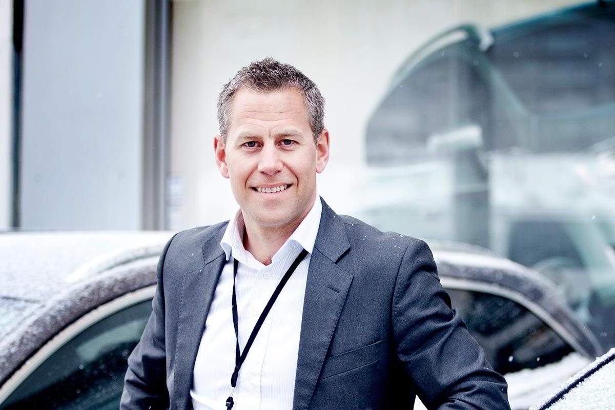 Haakon J. Marthinsen i Autolease følger bilmarkedet tett.