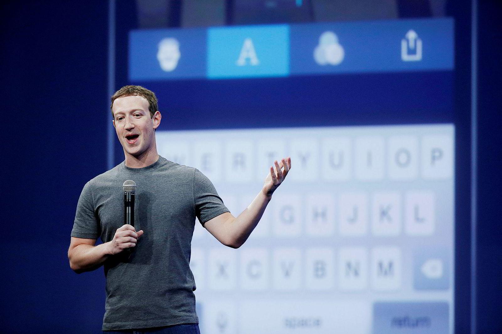 Facebook-sjef Mark Zuckerberg er i hardt vær etter avsløringene av lekkasjene av data om flere av selskapets brukere.