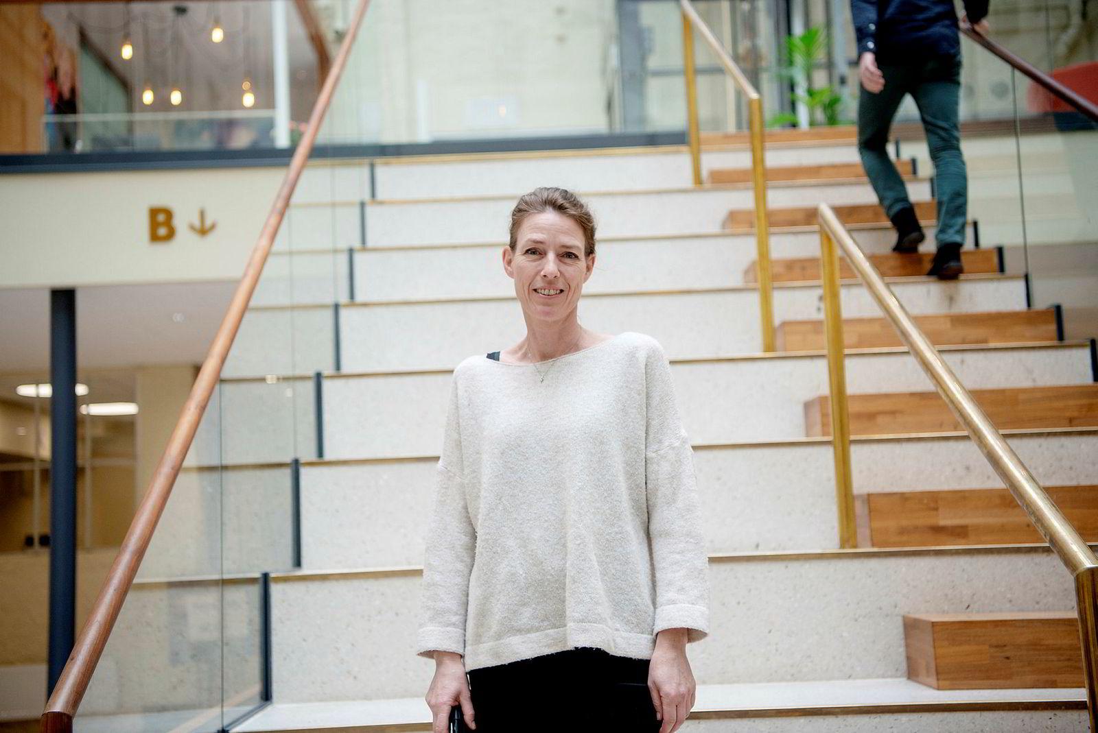 Radio- og tv-ekspertkommentator Marianne Massaiu i Mediacom