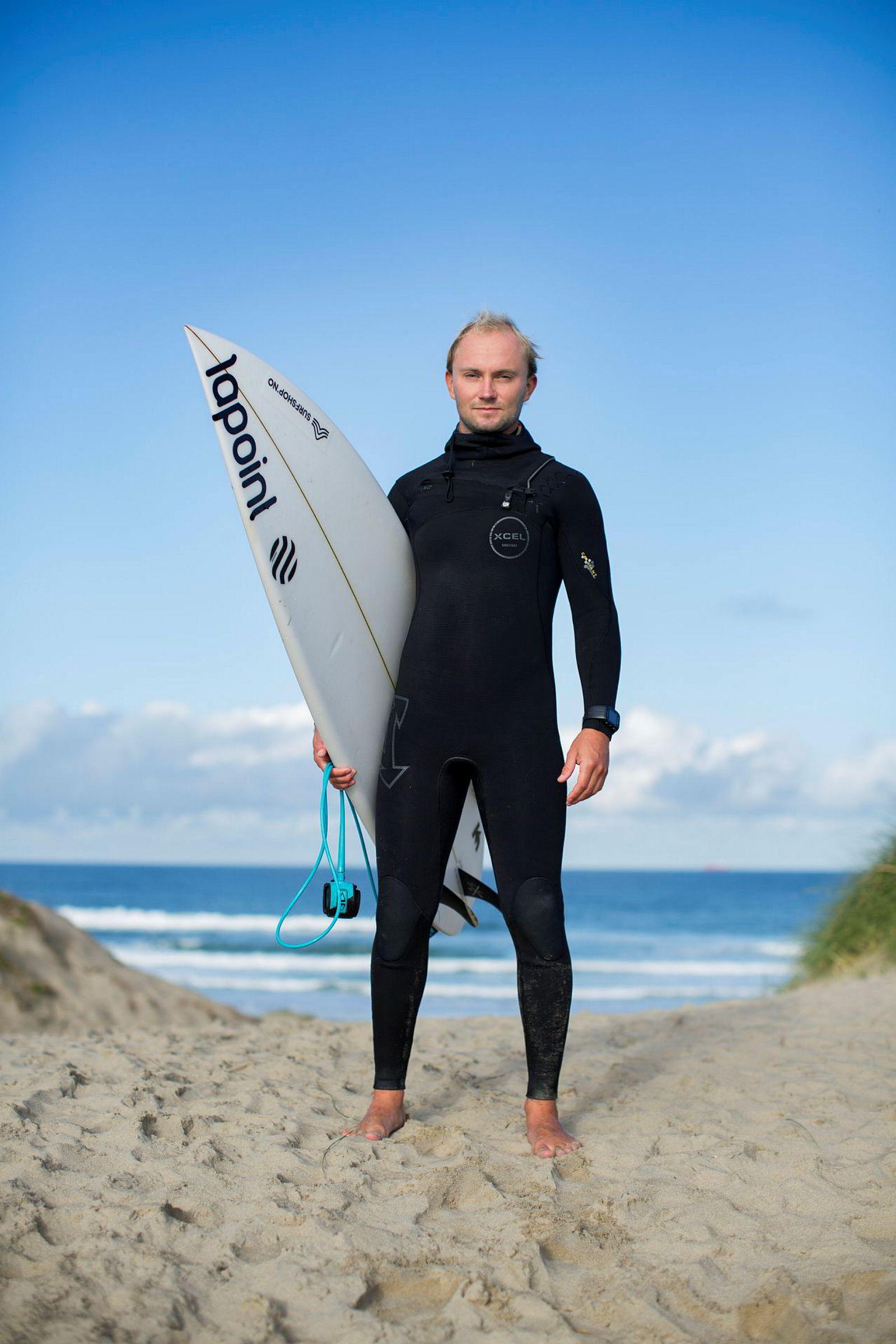 Sturla Fagerhaug er blant Norges beste surfere, men var tidligere en lovende stjerne i roadracing.
